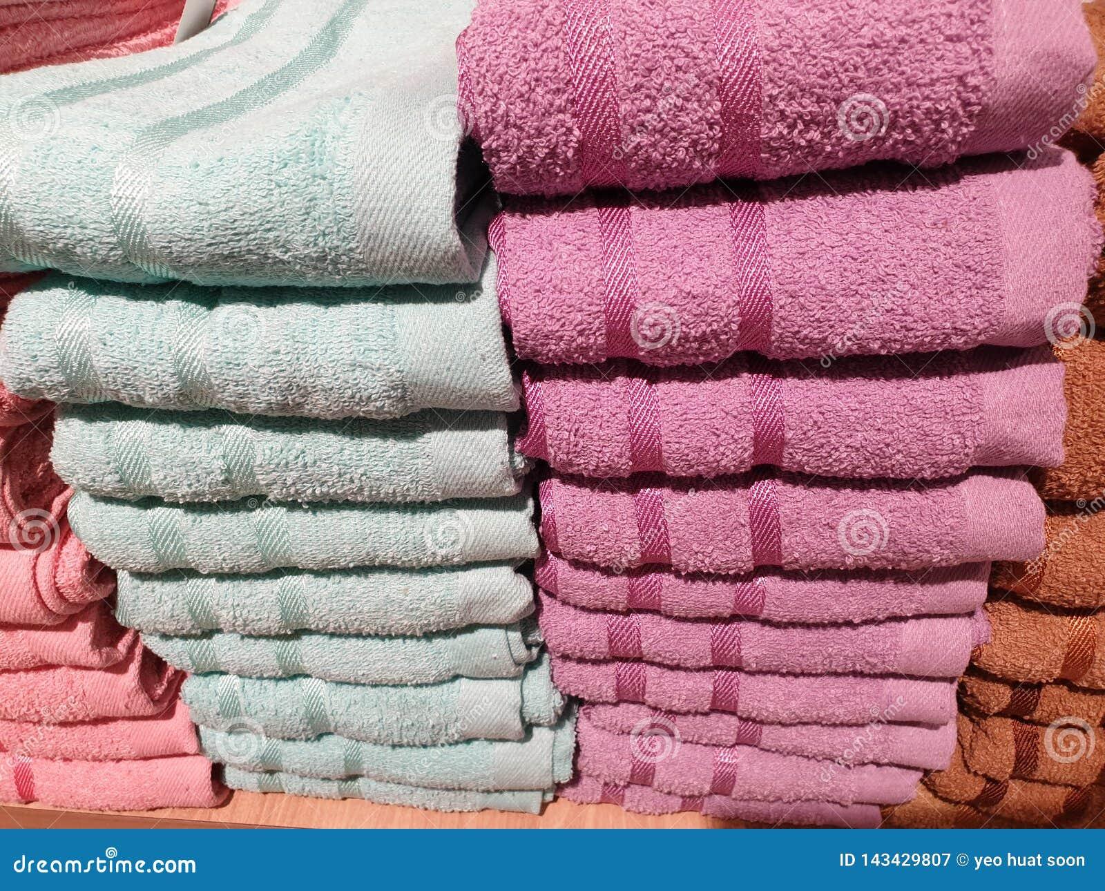 De stapel handdoeken