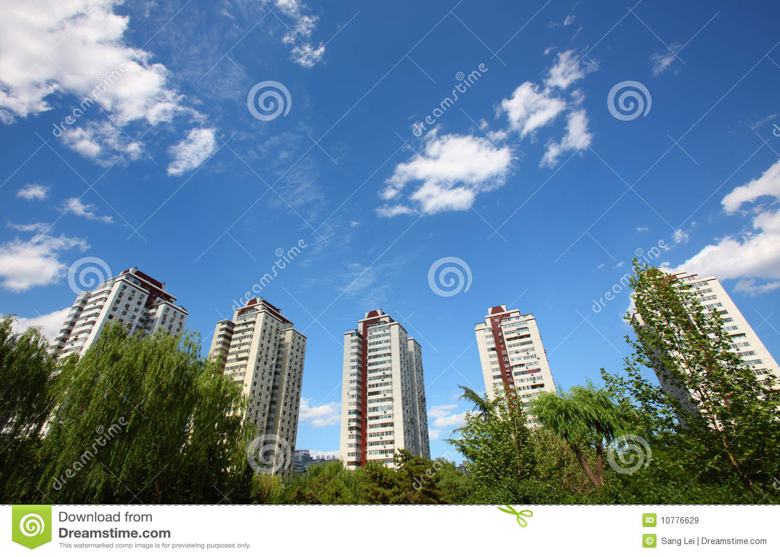De stedelijke bouw