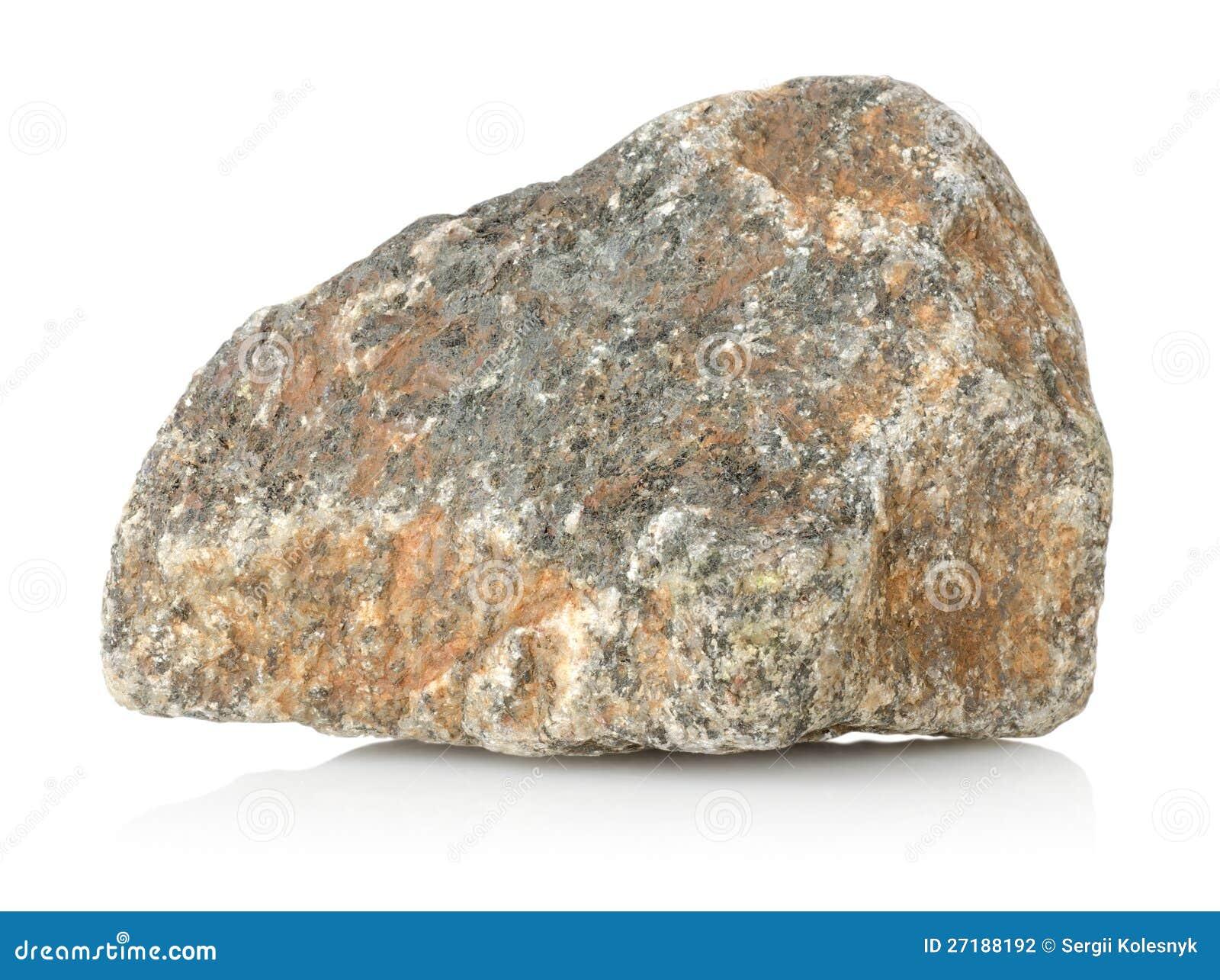 De steen van het graniet