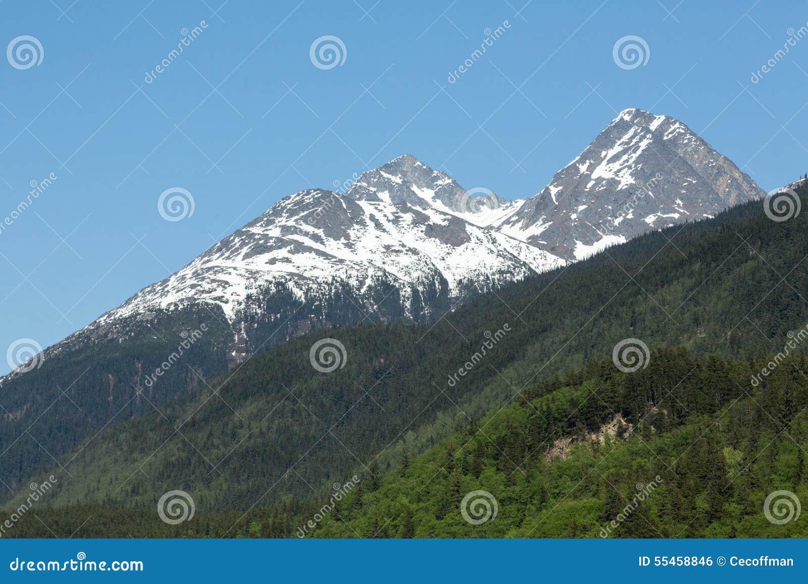 De Steile Bergen van Skagway