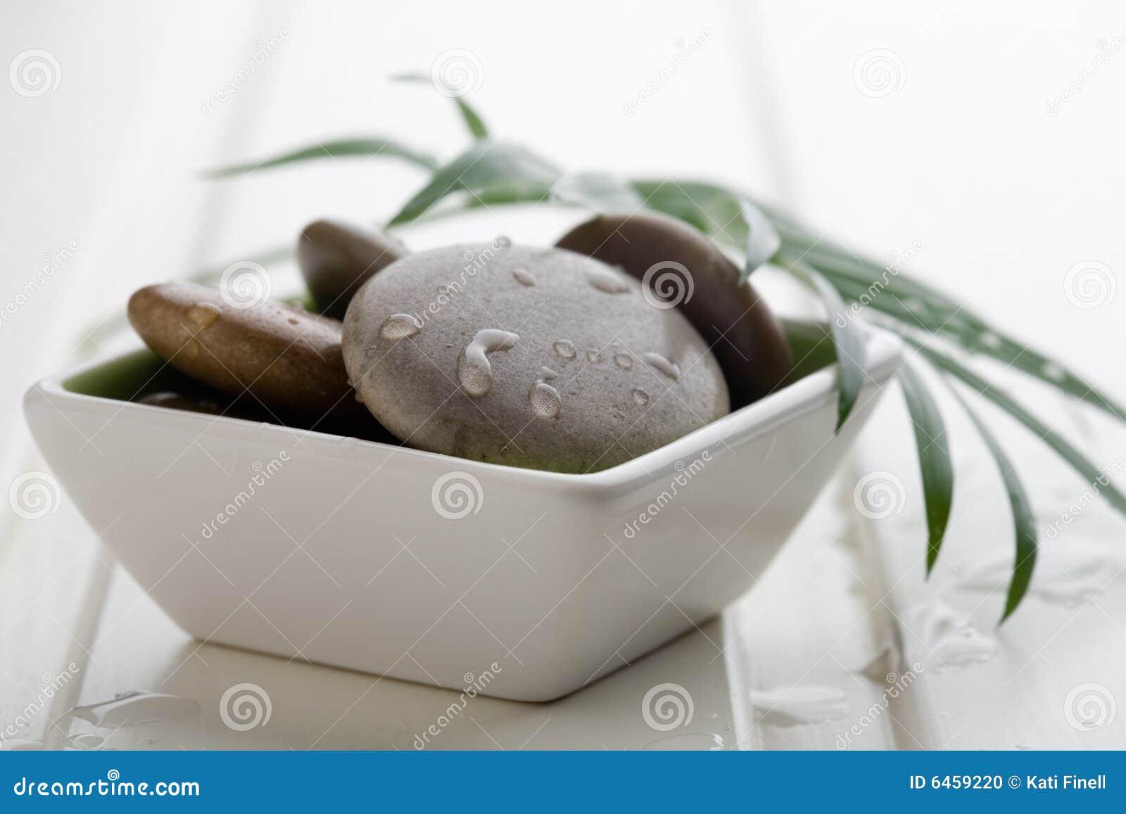 De stenen van de massage