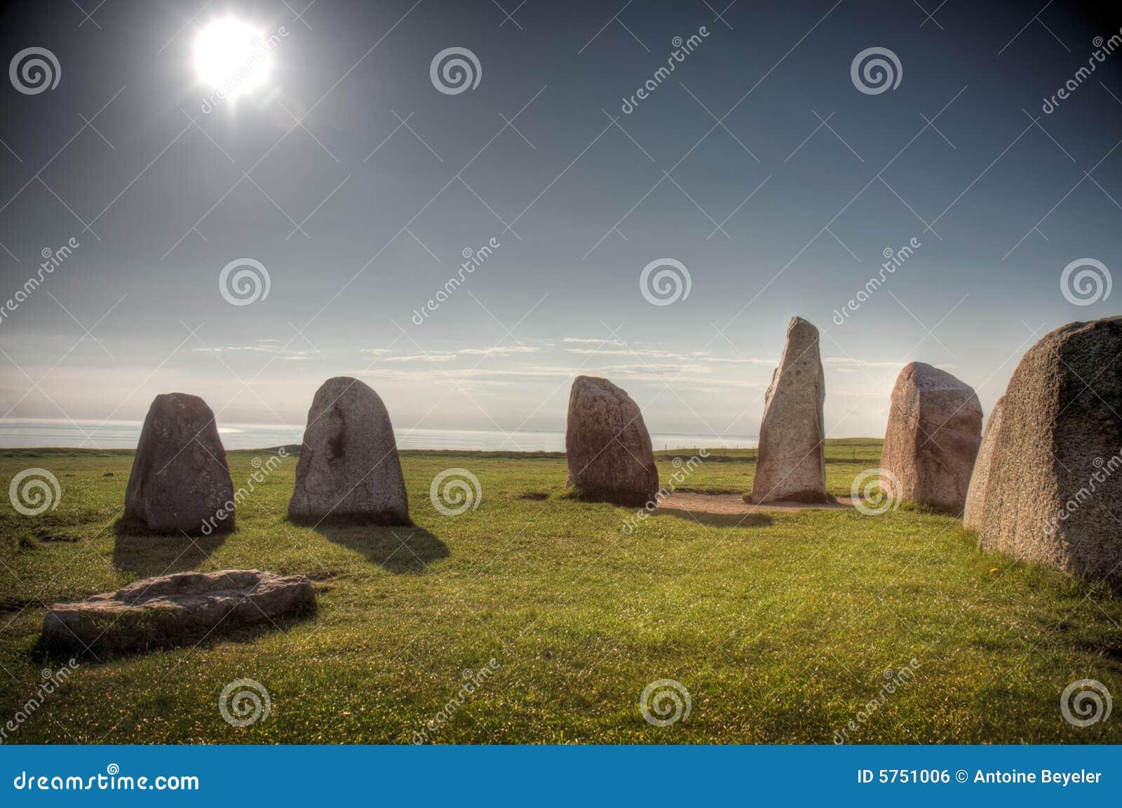 De stenen van het aal (Ales Stenar)