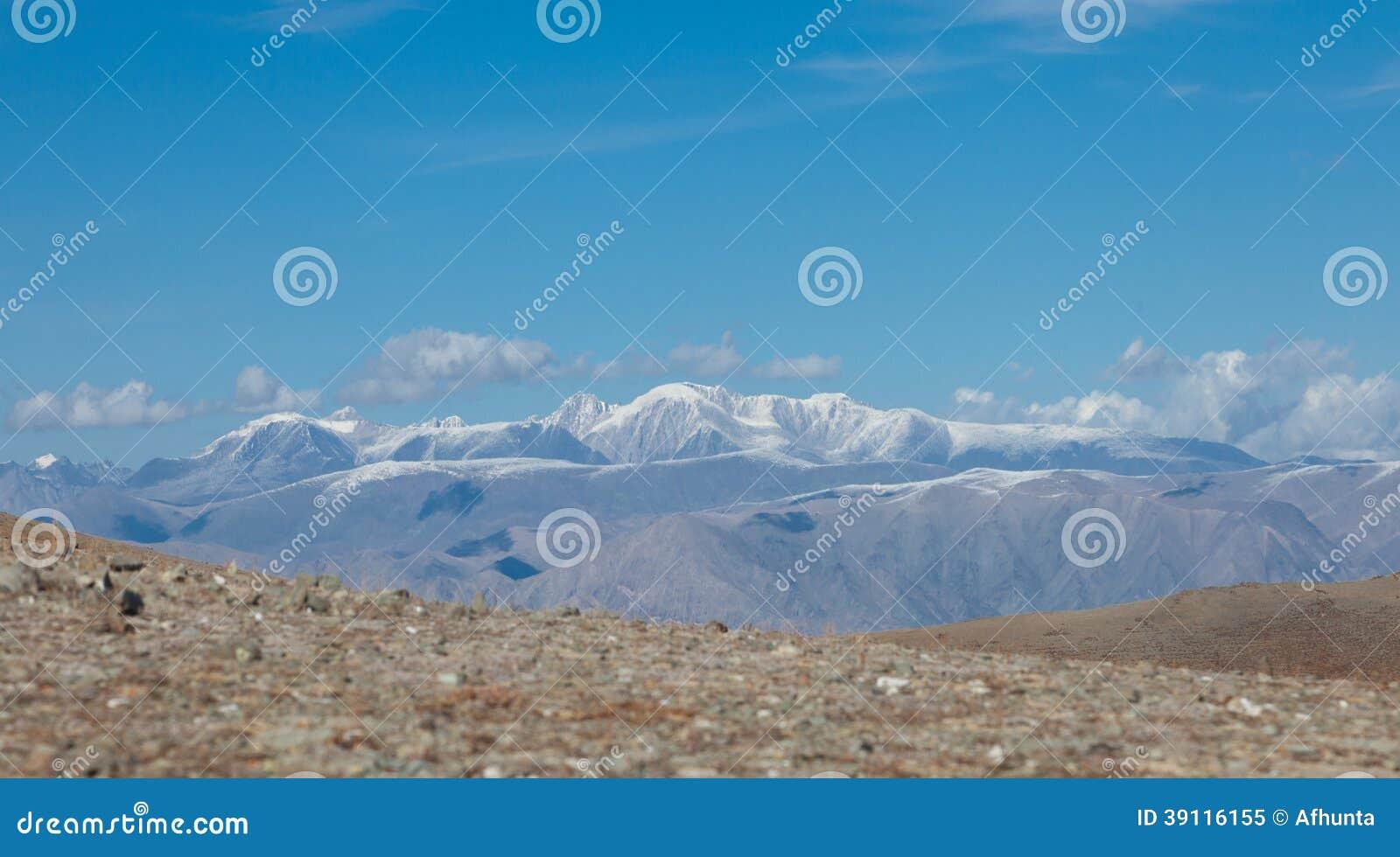 De steppen van de Altaiuitloper