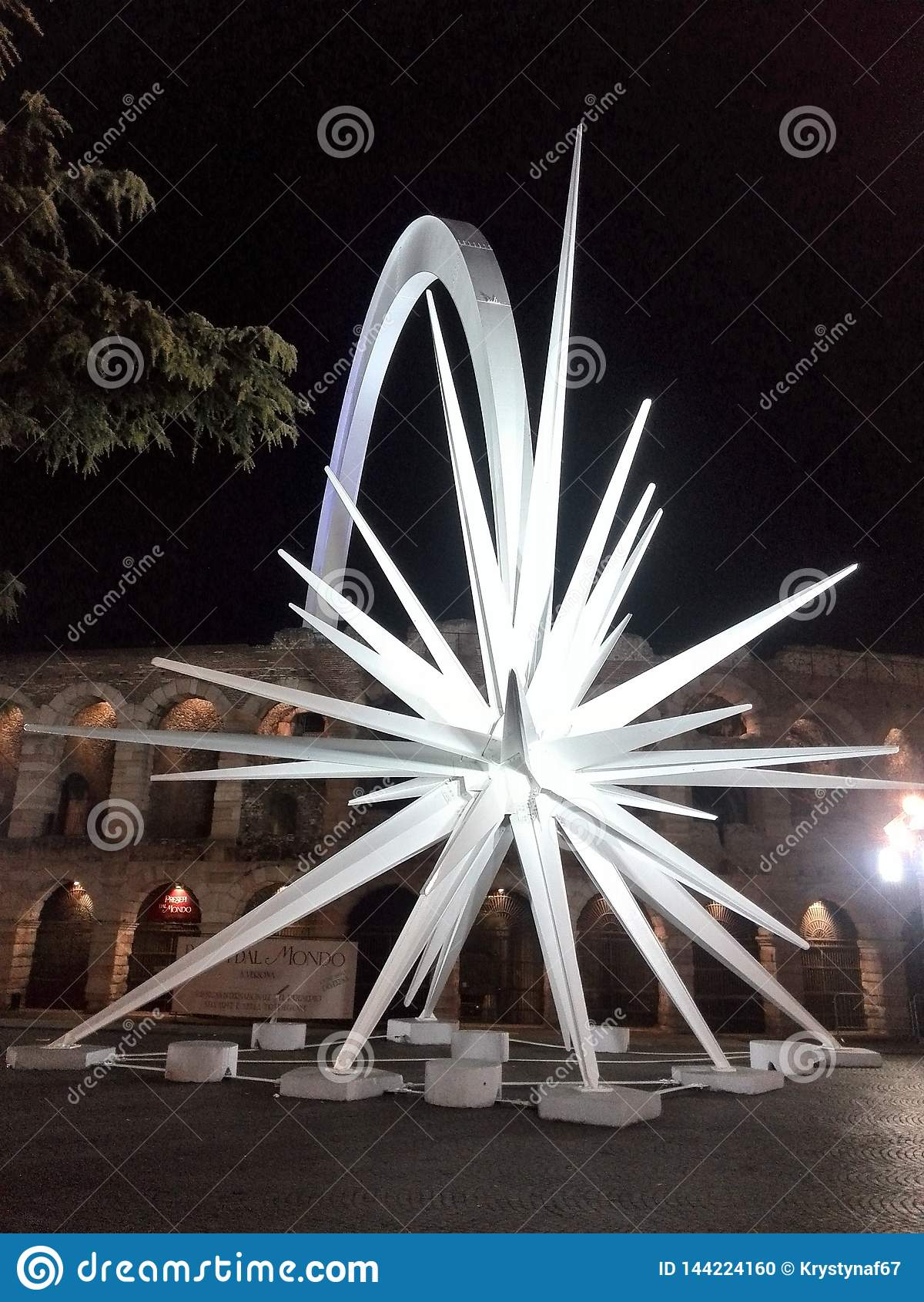 De ster in Verona