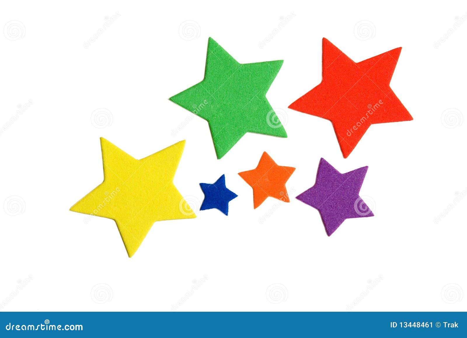 De sterren van de kleur stock afbeelding afbeelding bestaande uit gekleurd 13448461 - Kleur van meisjeskamers ...