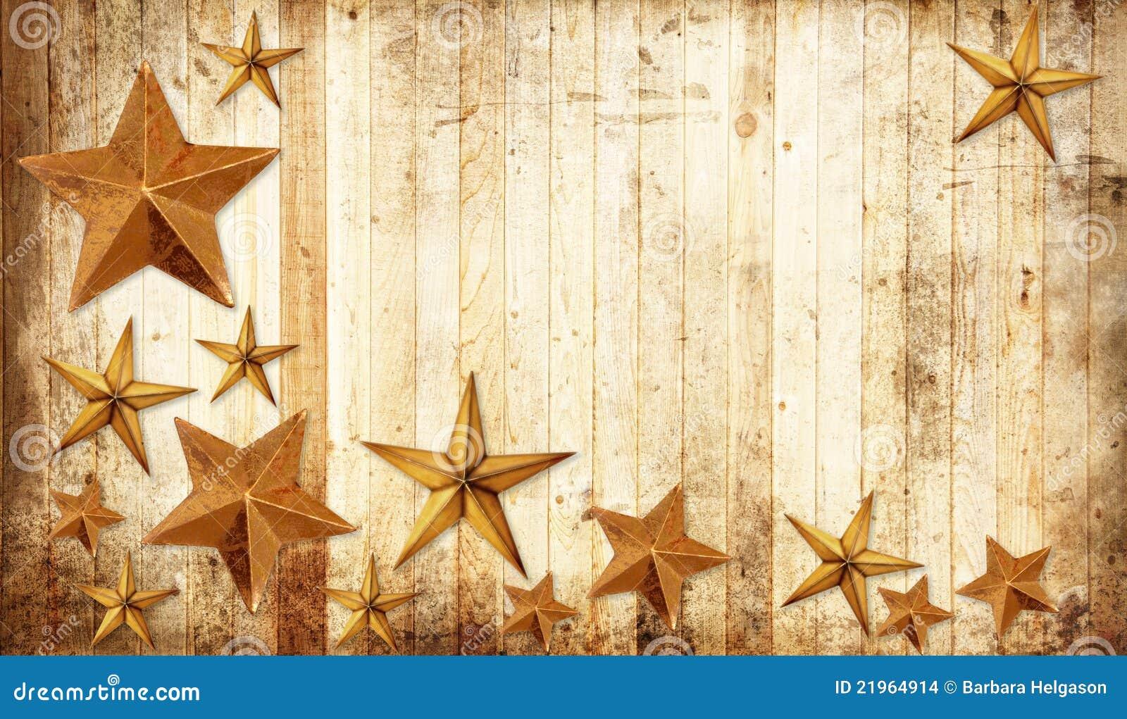 De sterren van Kerstmis van het land