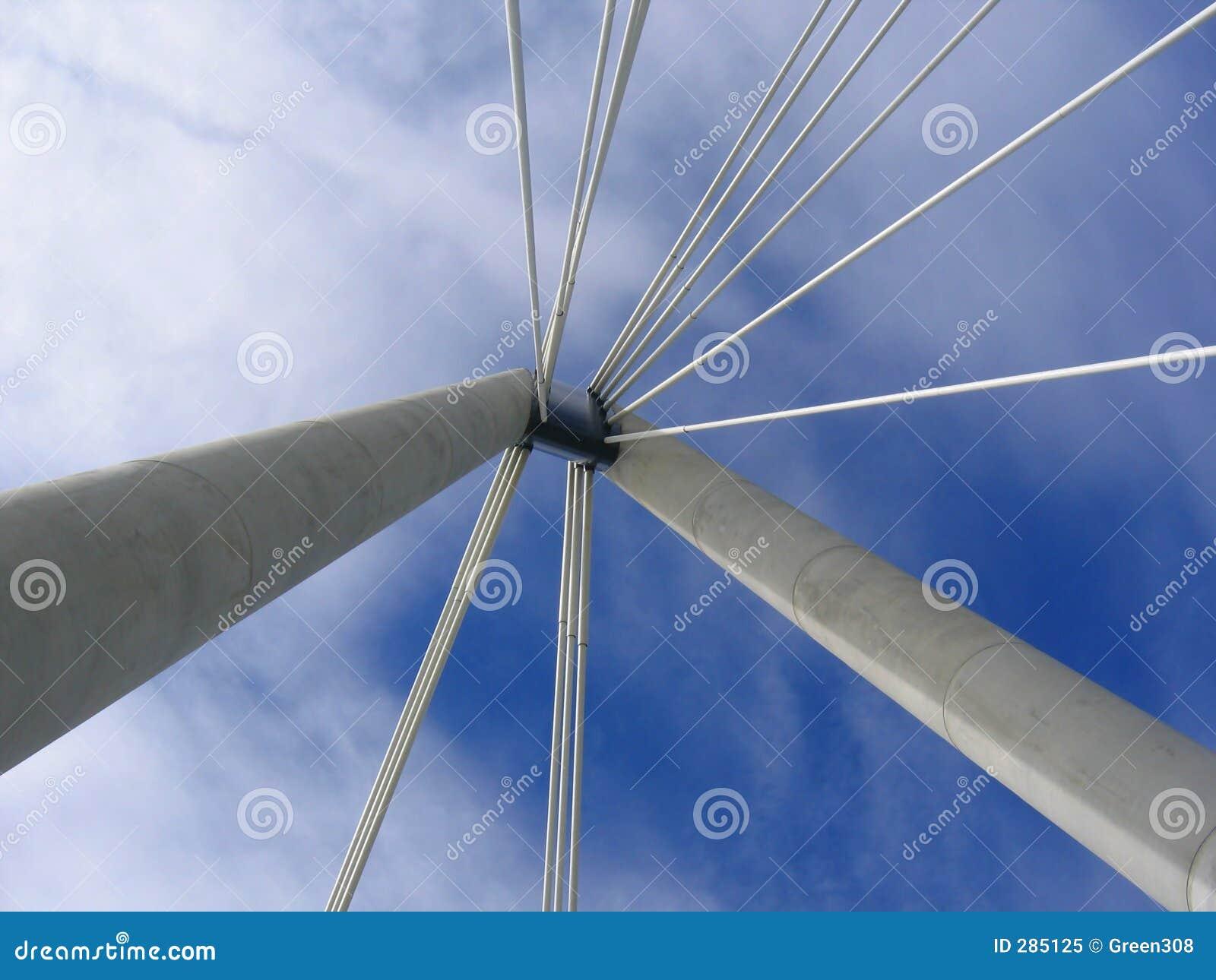 De Steunen van de brug