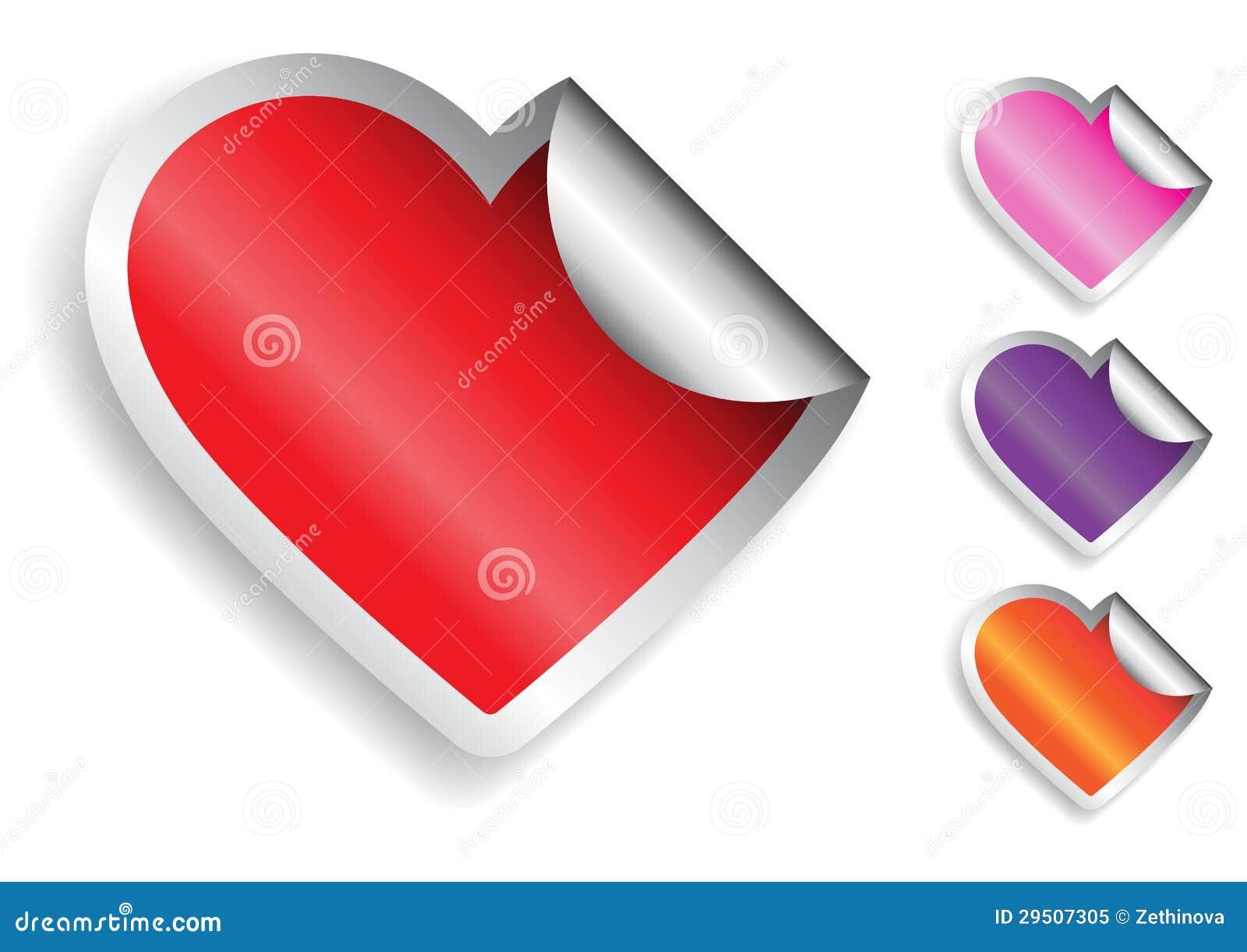 De Sticker van het hart