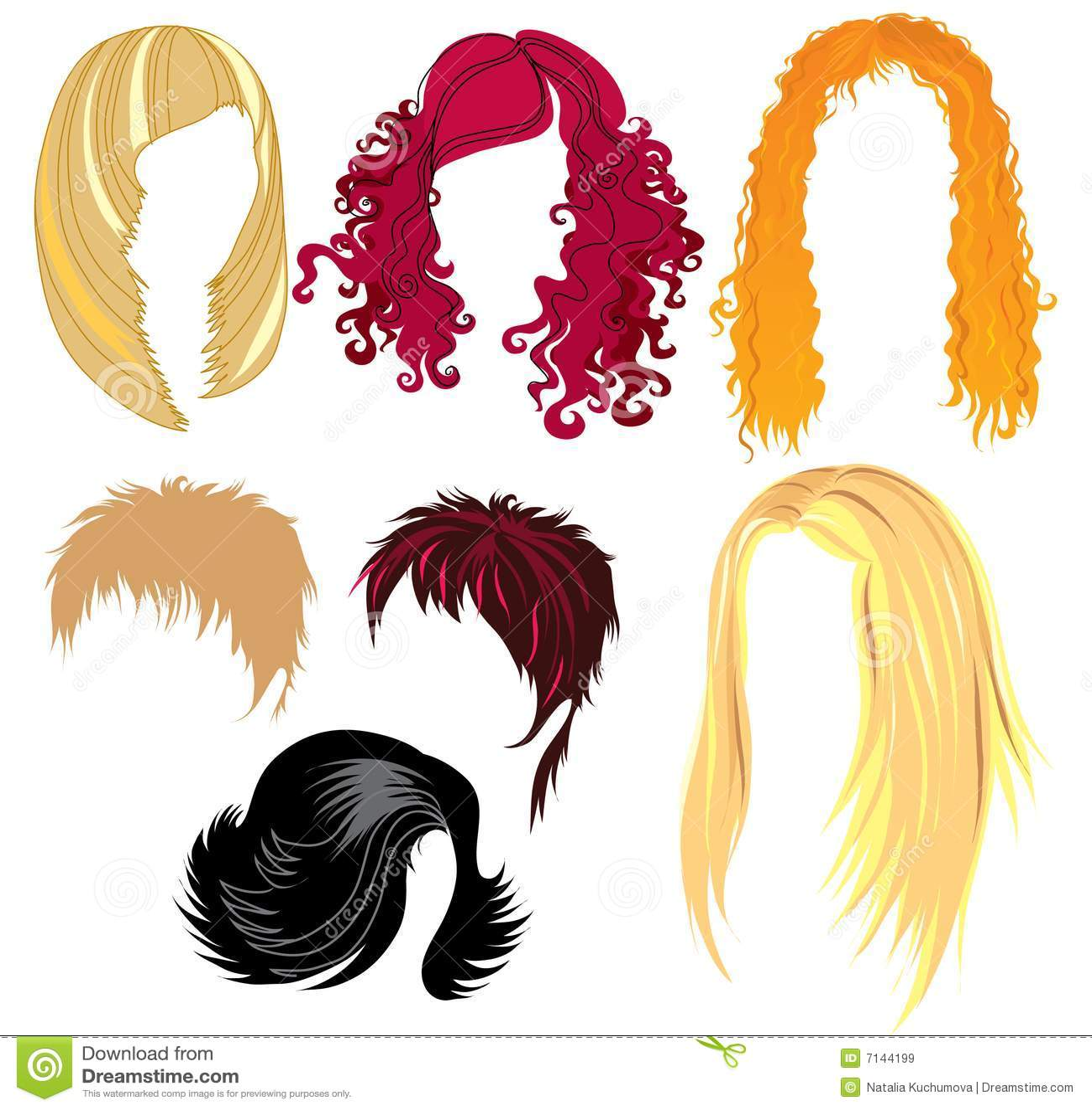 De het haar