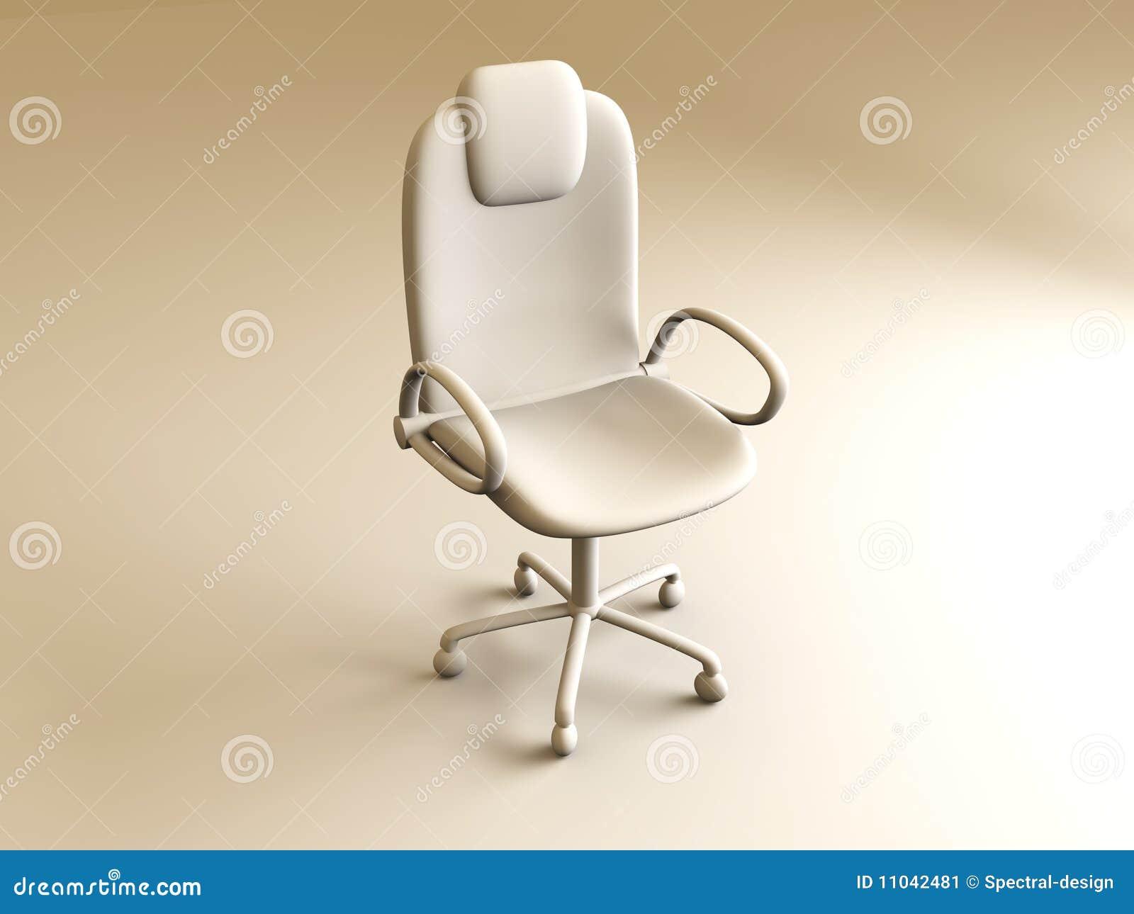 De stoel van het bureau stock afbeelding afbeelding for Bureau stoel
