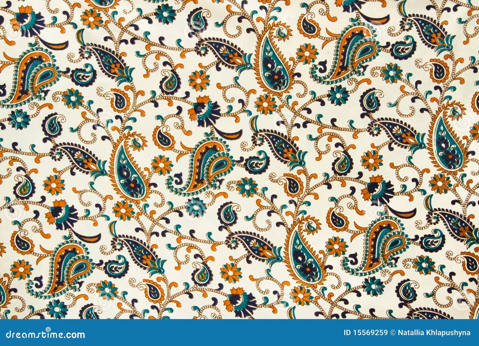 De stof van de zijde met een aziatisch patroon stock afbeelding afbeelding 15569259 - Oosters stof ...