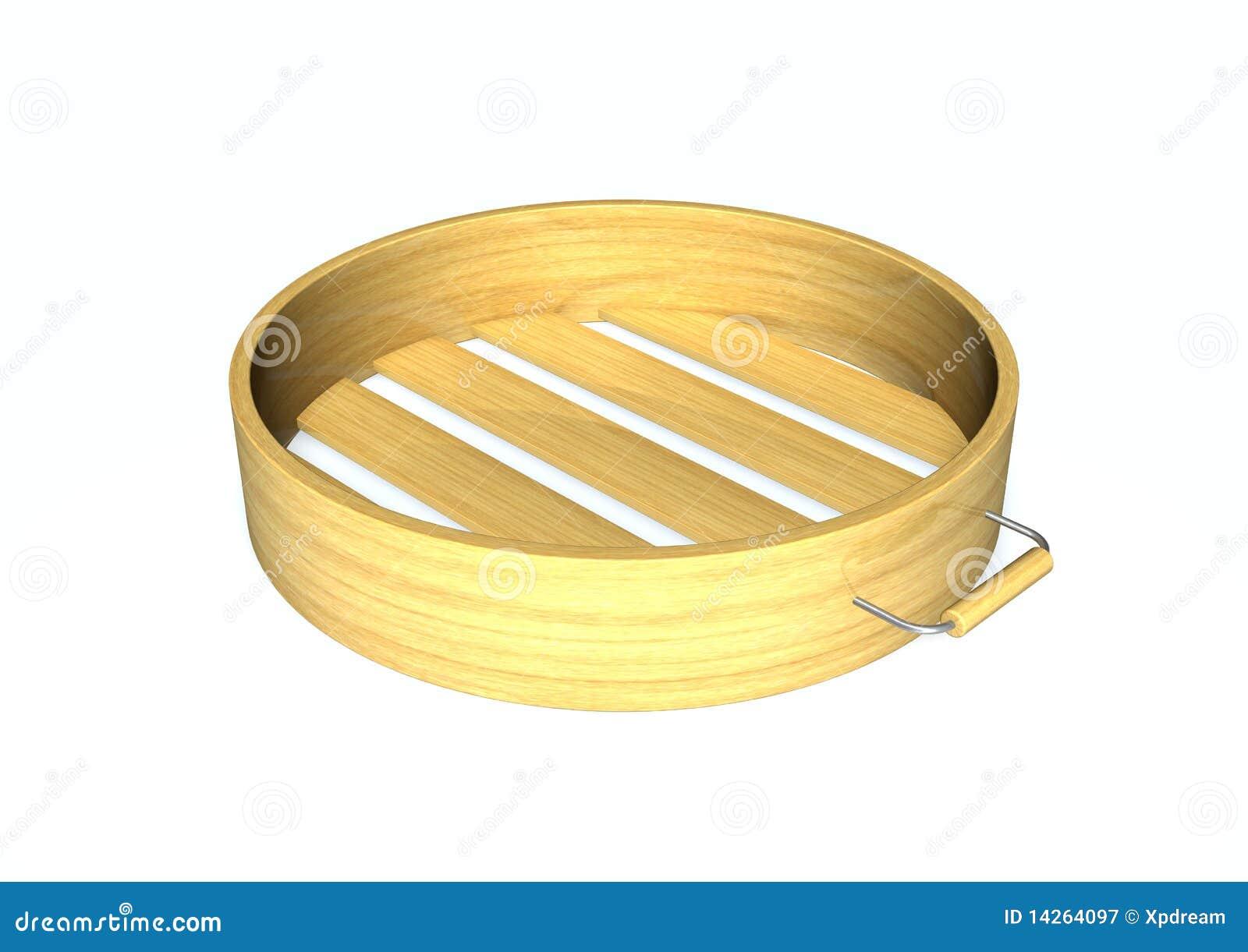 De stoomboot van het bamboe