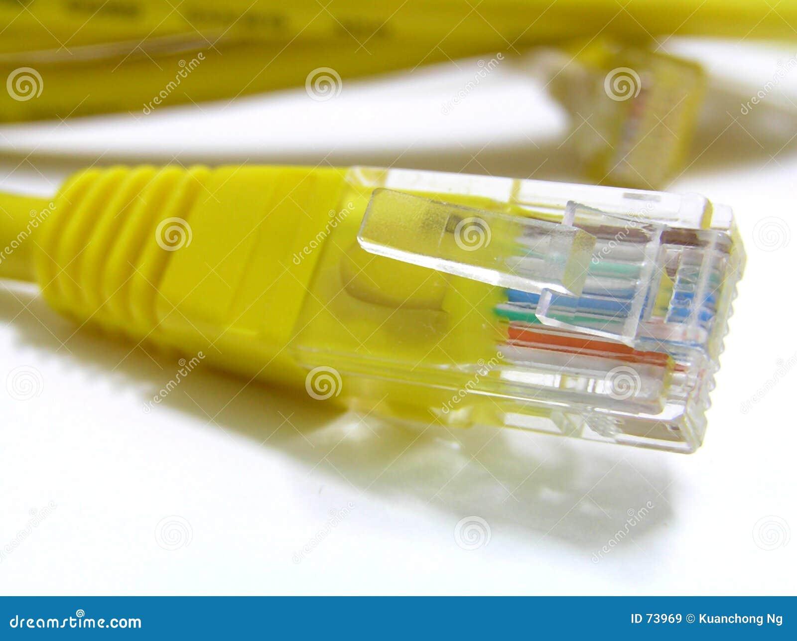 De stop van het netwerk
