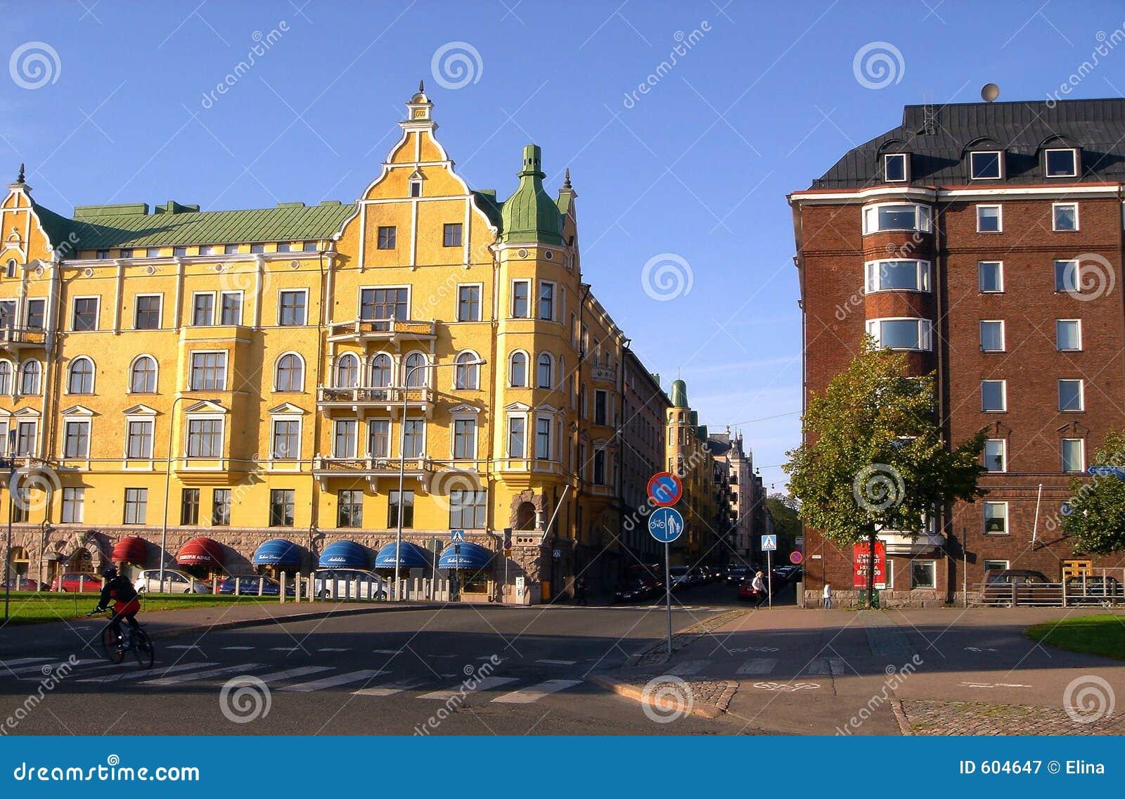 De Straat van de kade van Helsinki