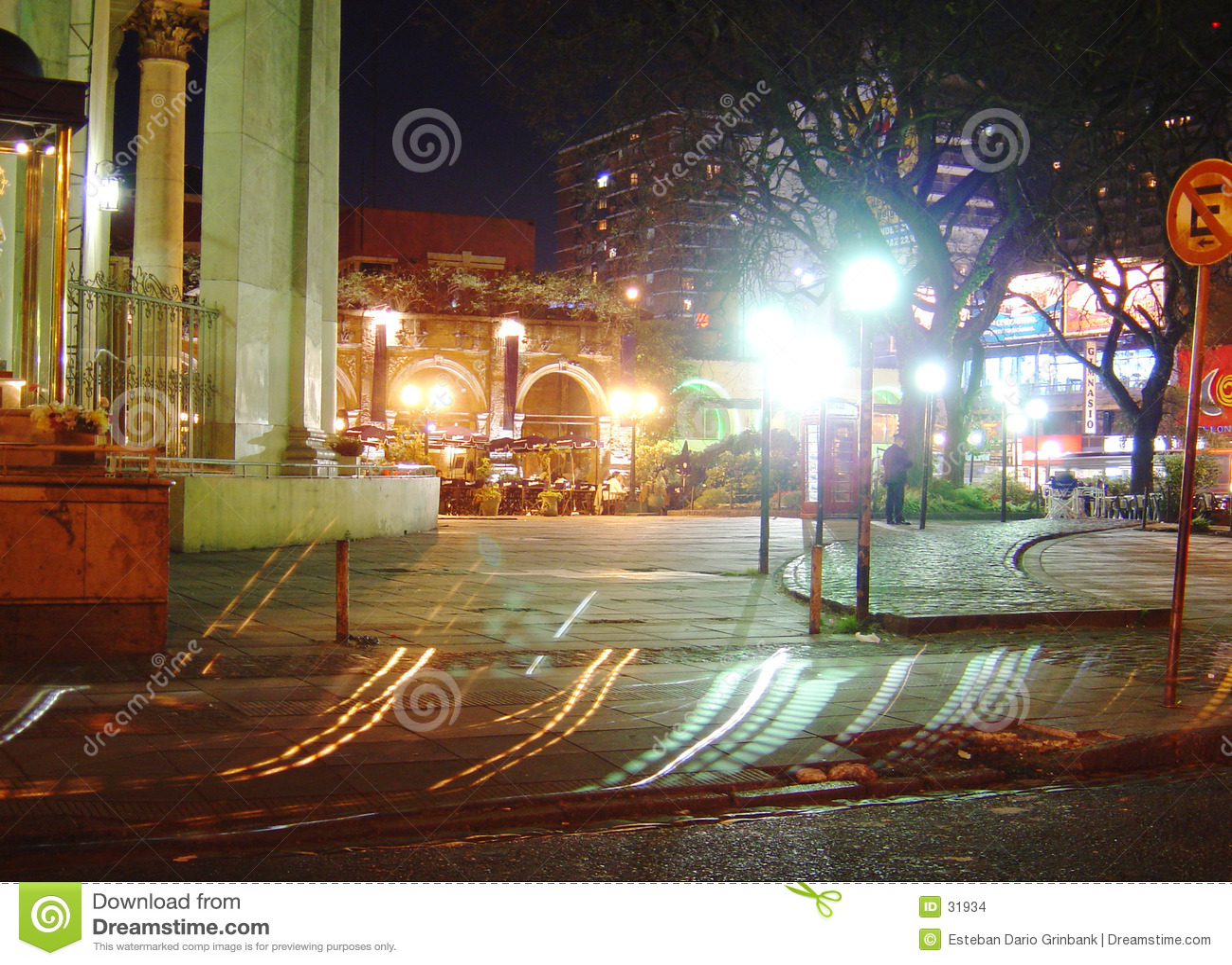 De straat van de nacht