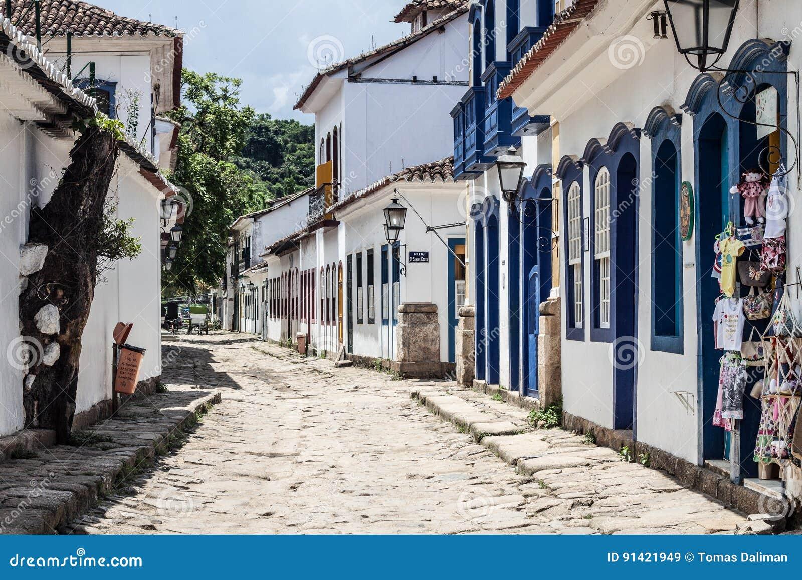 De straat van Paraty
