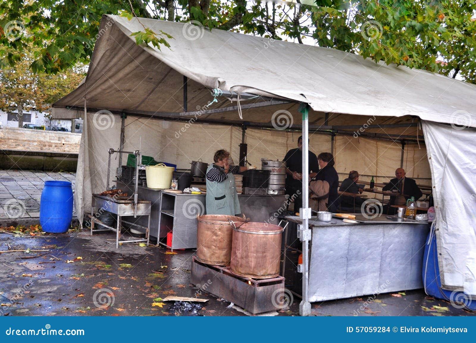 De straatkoffie in Porto doet Zoon