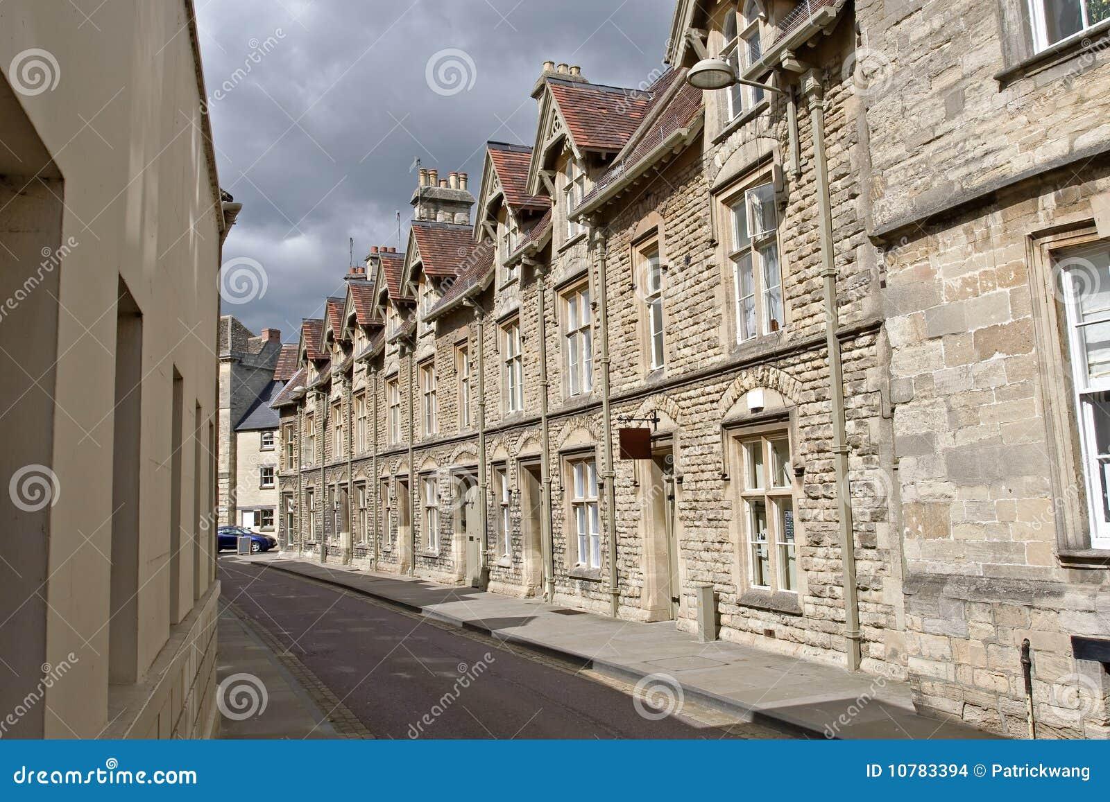 De straatscène van Cotswolds van Cirencester