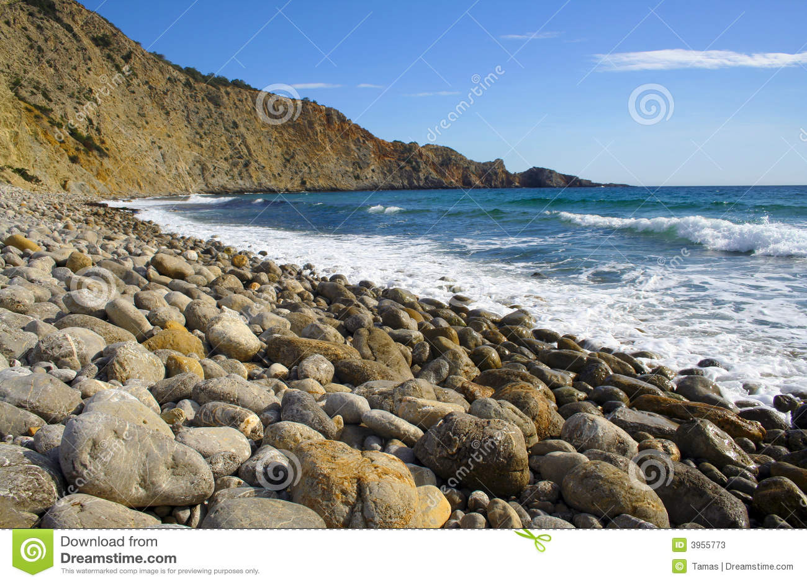 De stranden van Serie van Ibiza