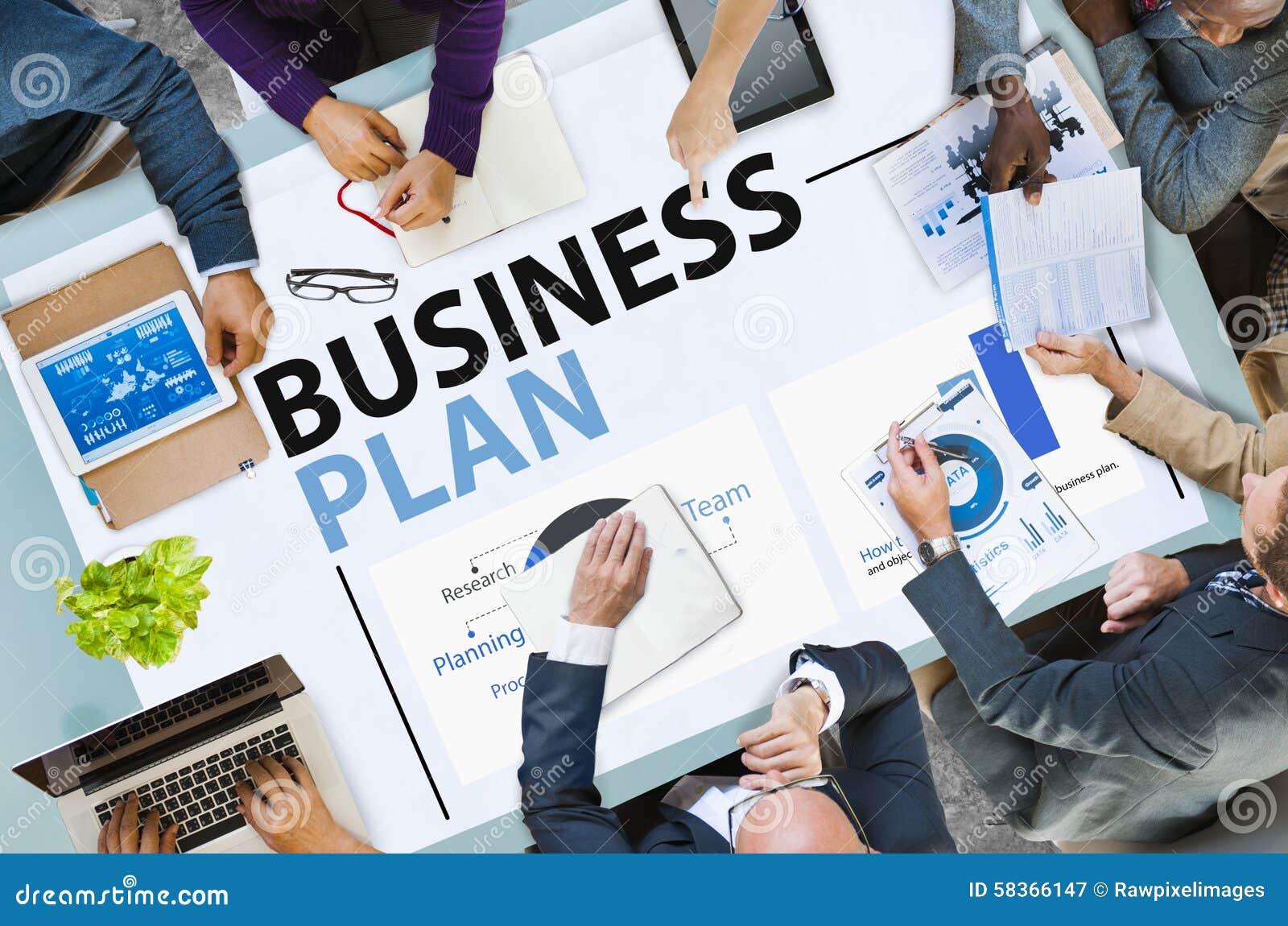 De Strategie van het Businessplan de Statistiekenconcept van de Planningsinformatie