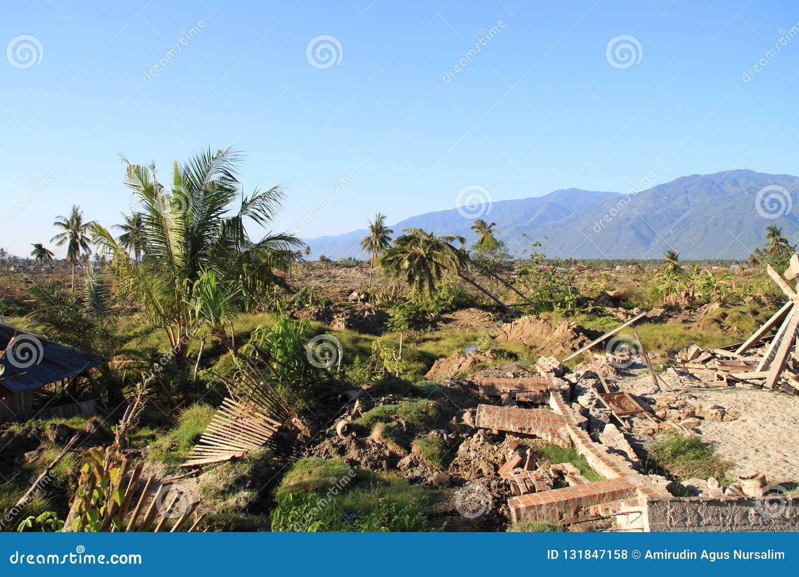 De Strengste Schade in Centrale Sulawesi