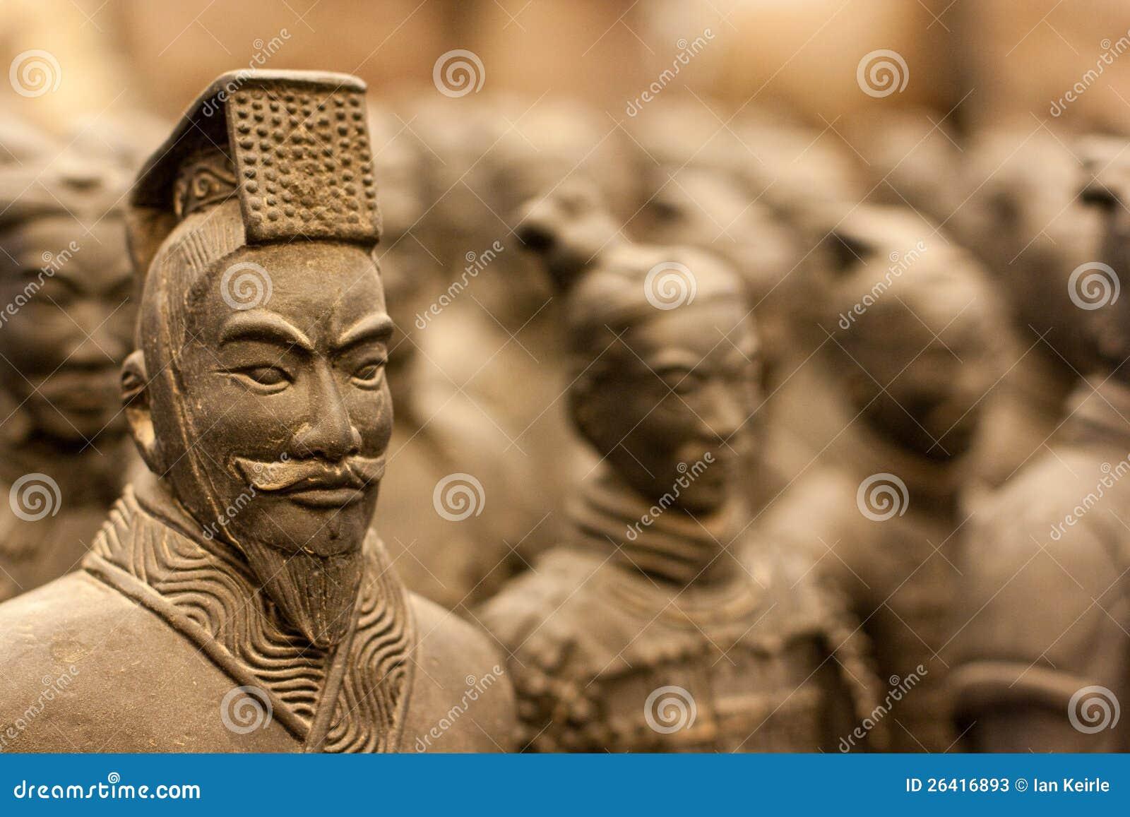 De strijder van het terracotta