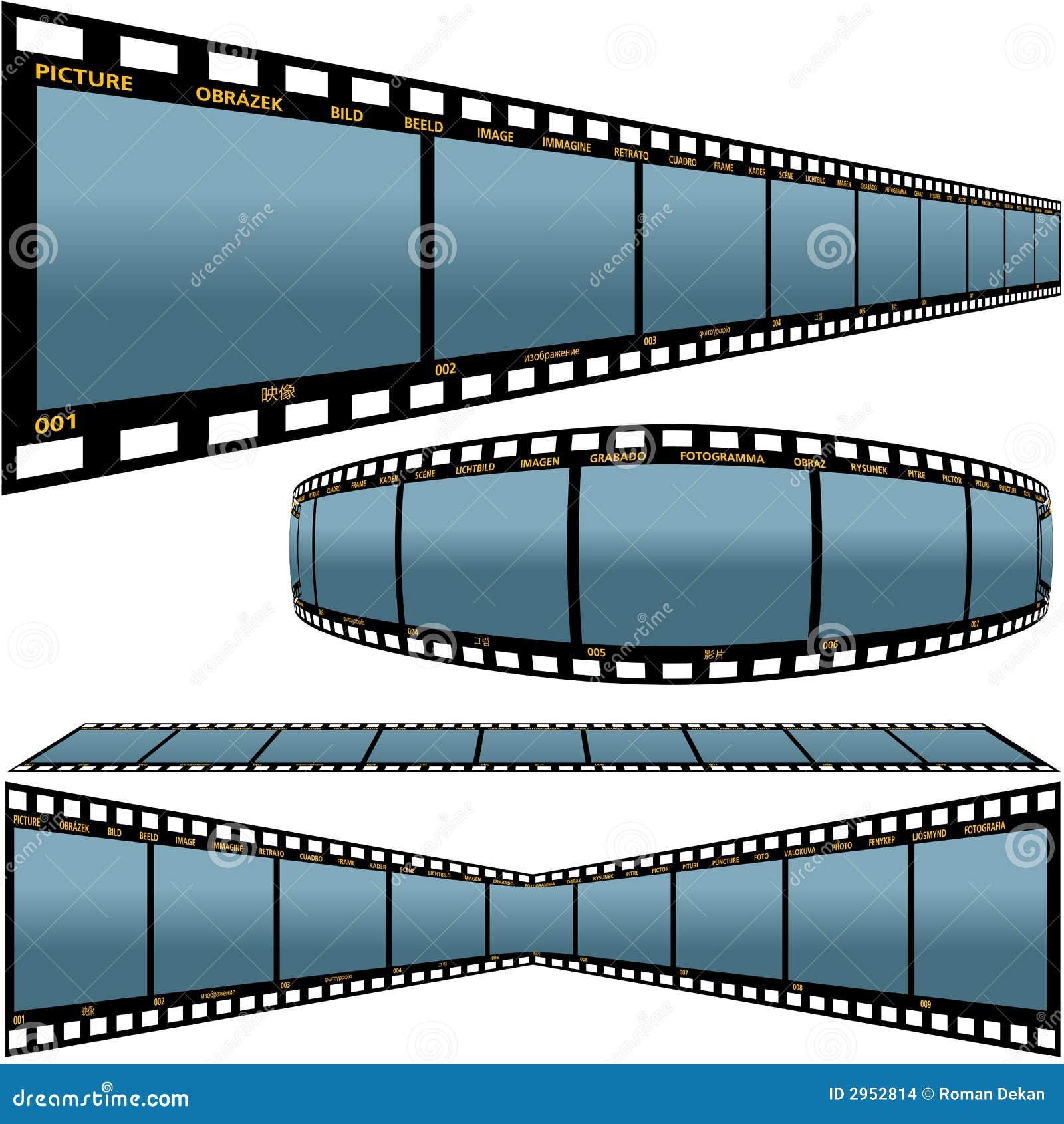 De strook D van de film
