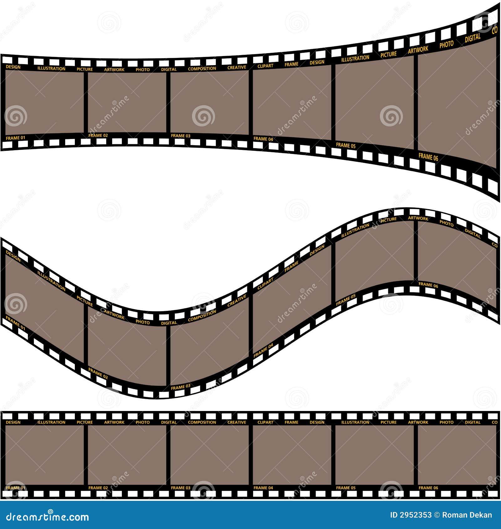 De strook A van de film