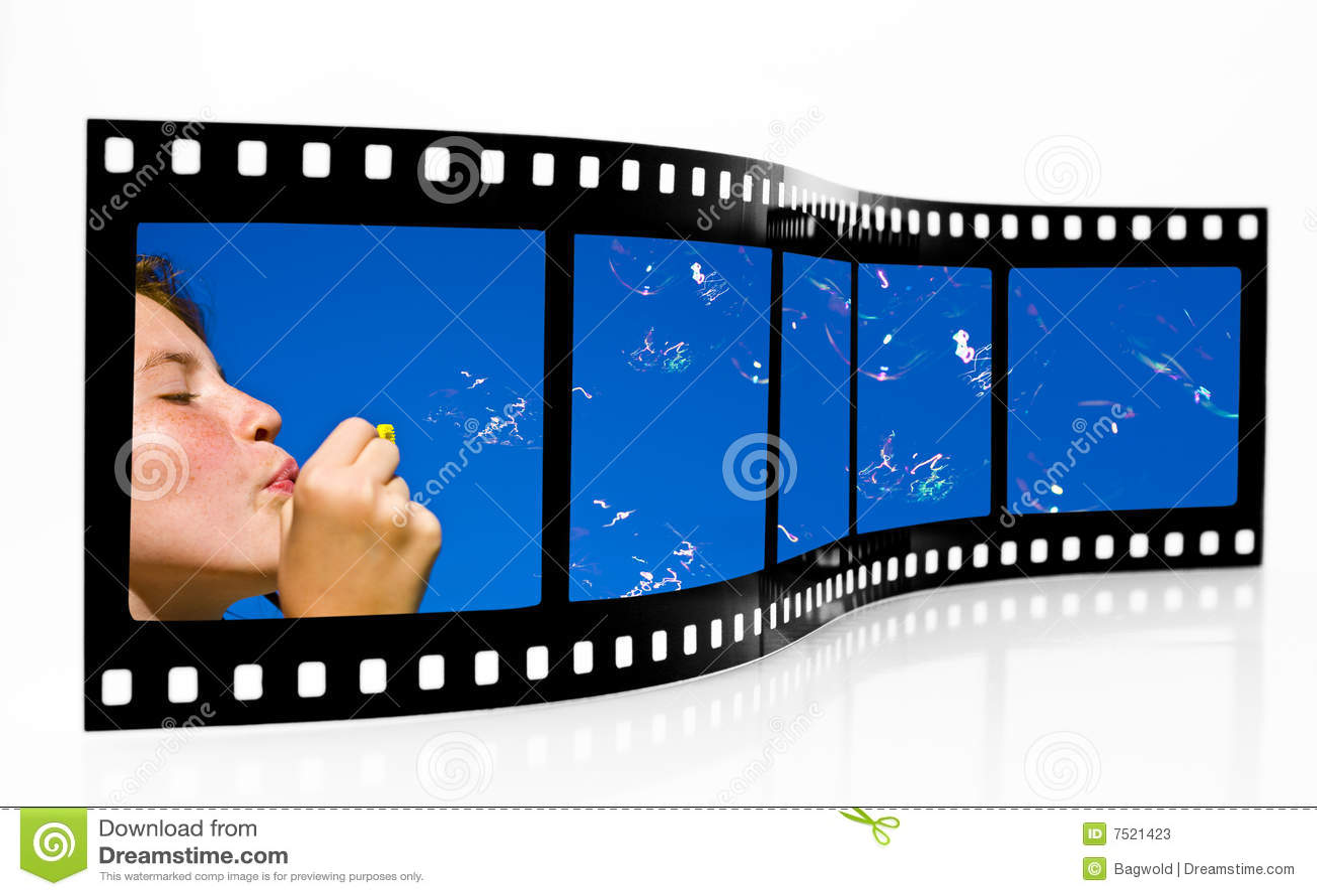 De Strook van de Film van bellen