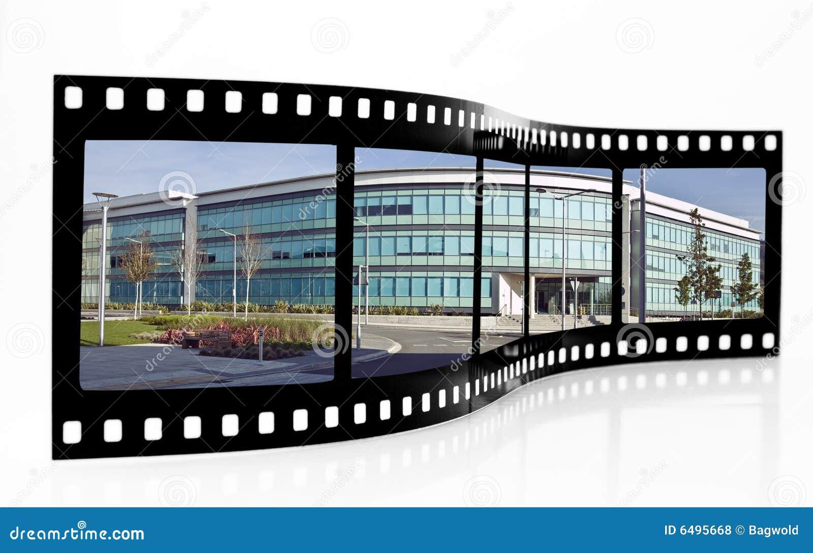 De Strook van de Film van Swansea