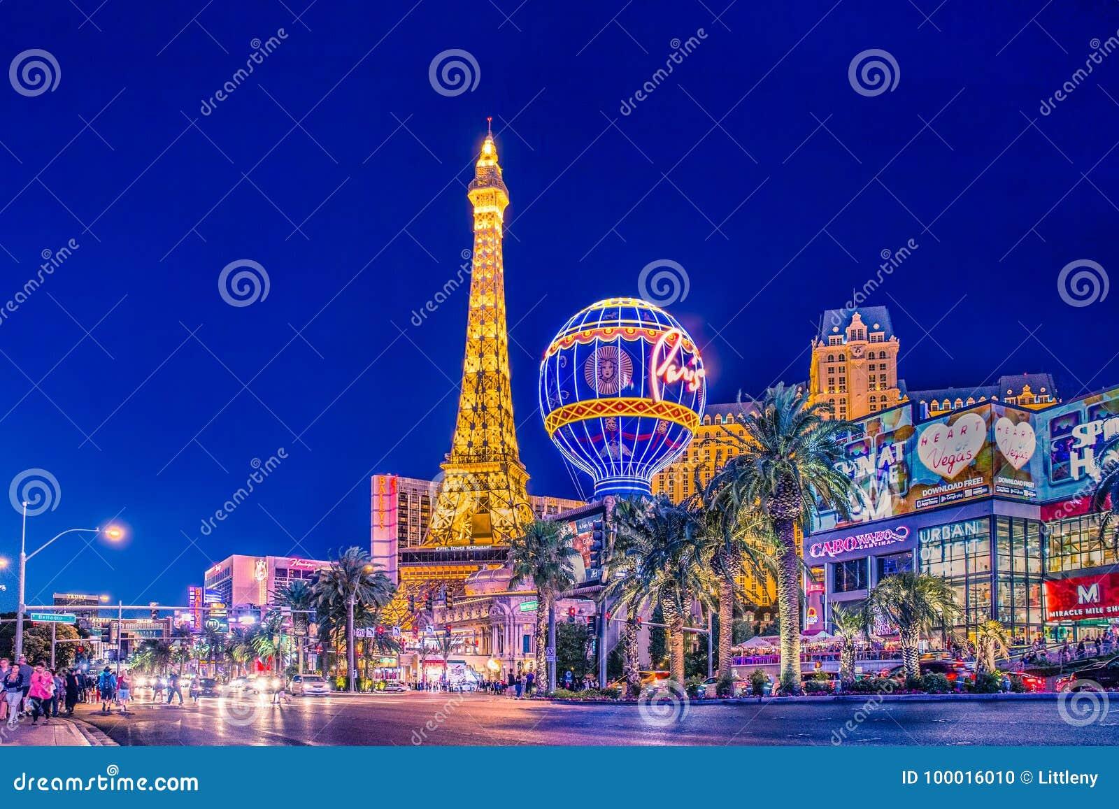 De Strook van Vegas van Las