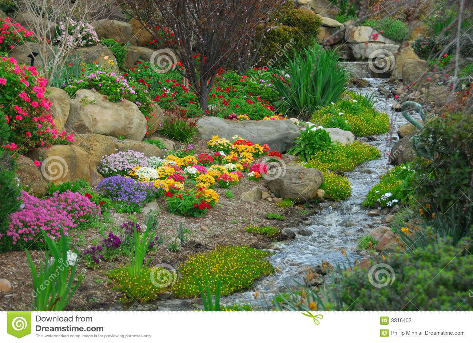 De Stroom van de tuin