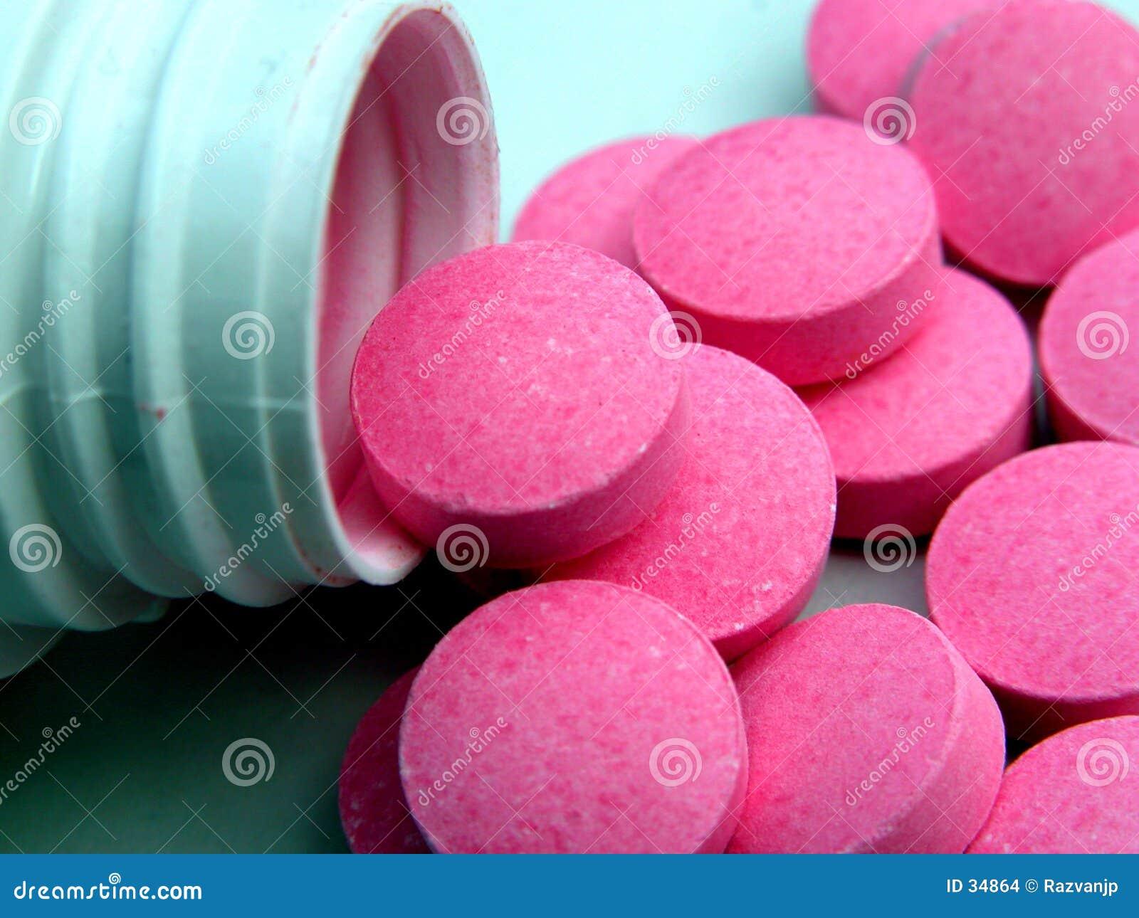 De stroom van pillen .....