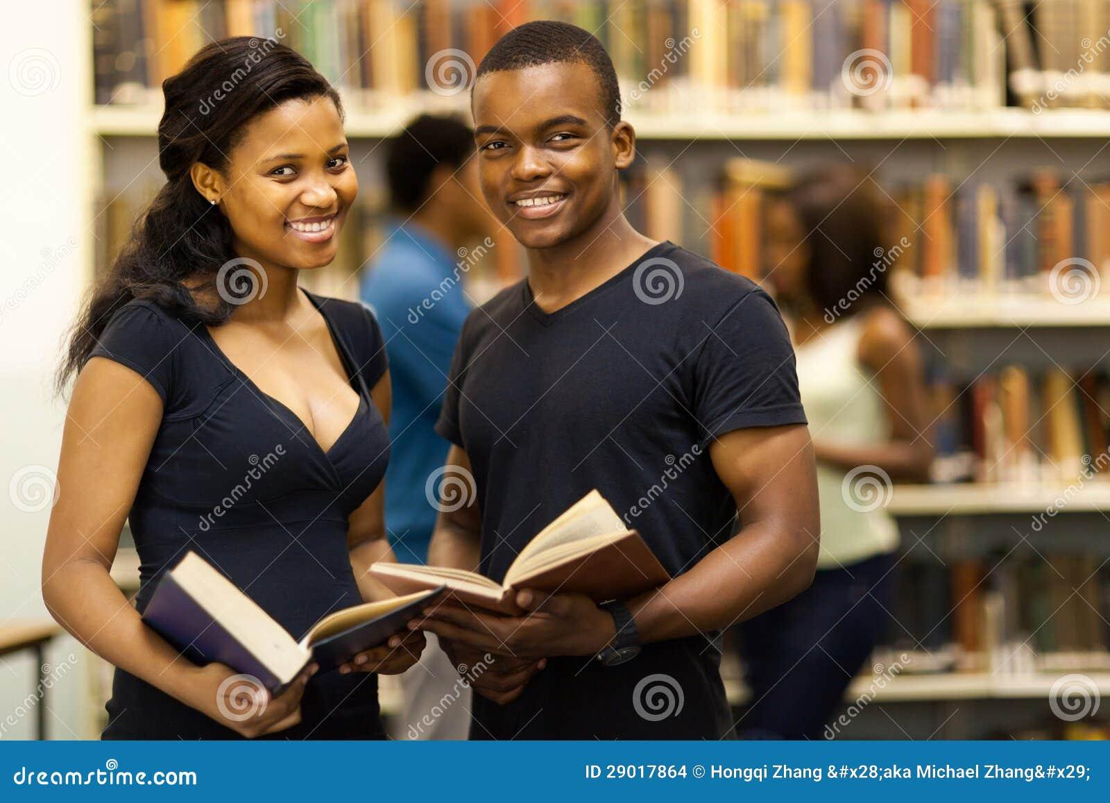 De studentenbibliotheek van de groep
