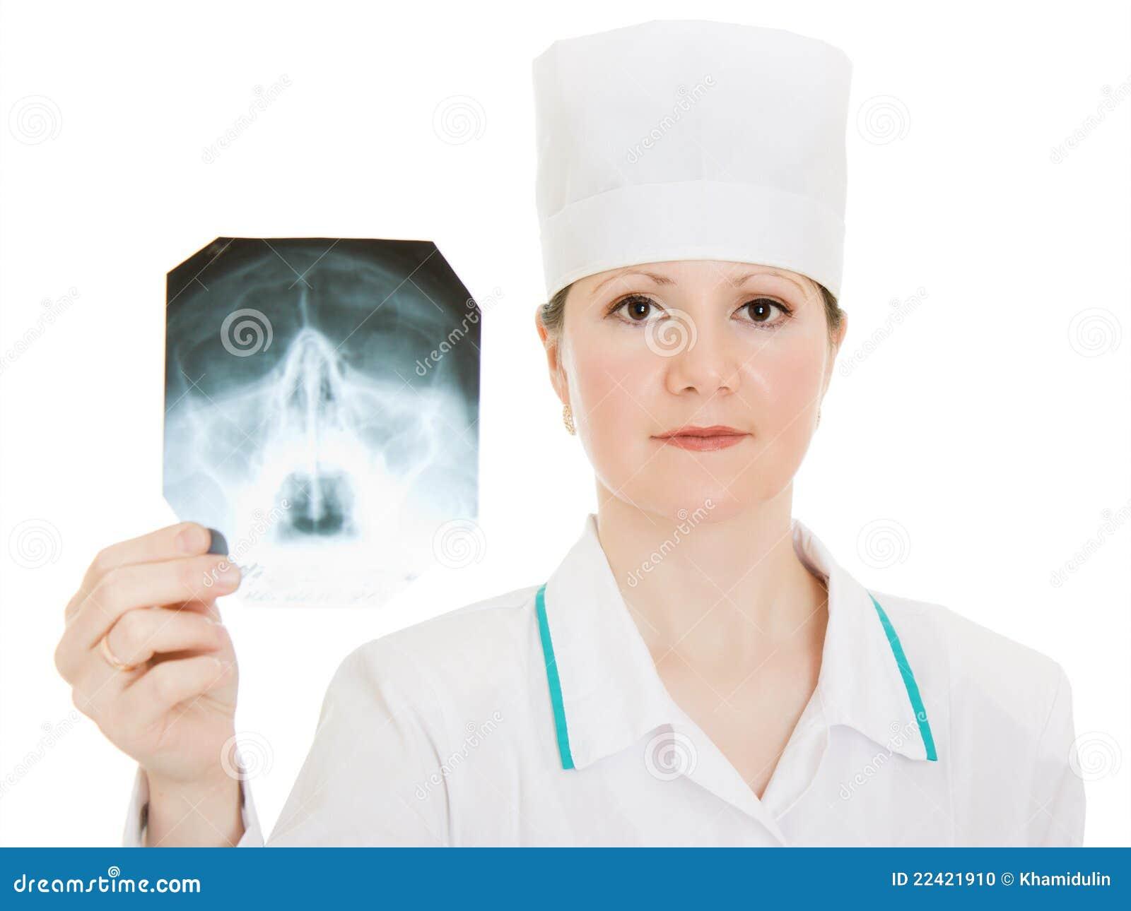 De studie van de Röntgenstraal van de arts