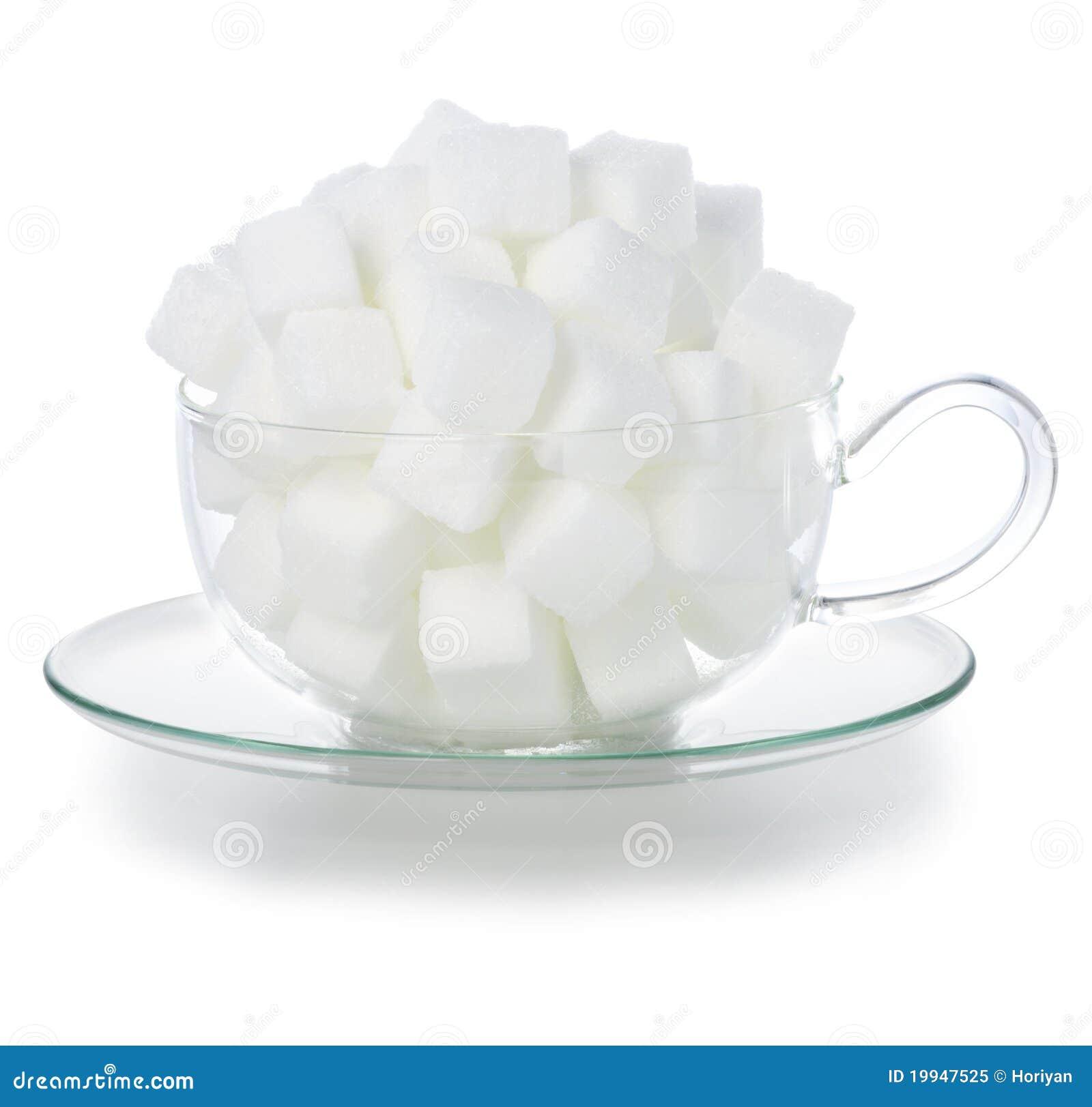 De suiker van de kubus