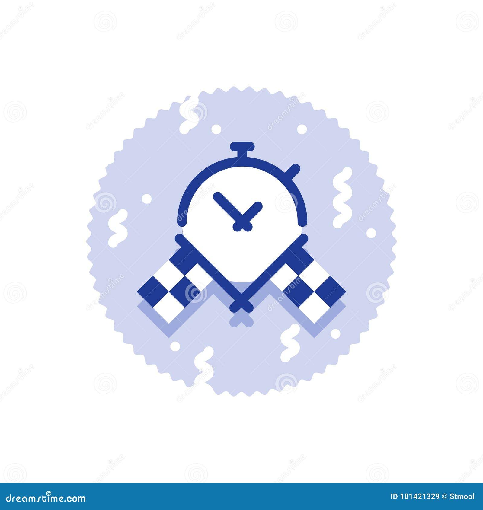 De super snelle leveringsdienst, beste de tijdresultaat van de rasuitdaging