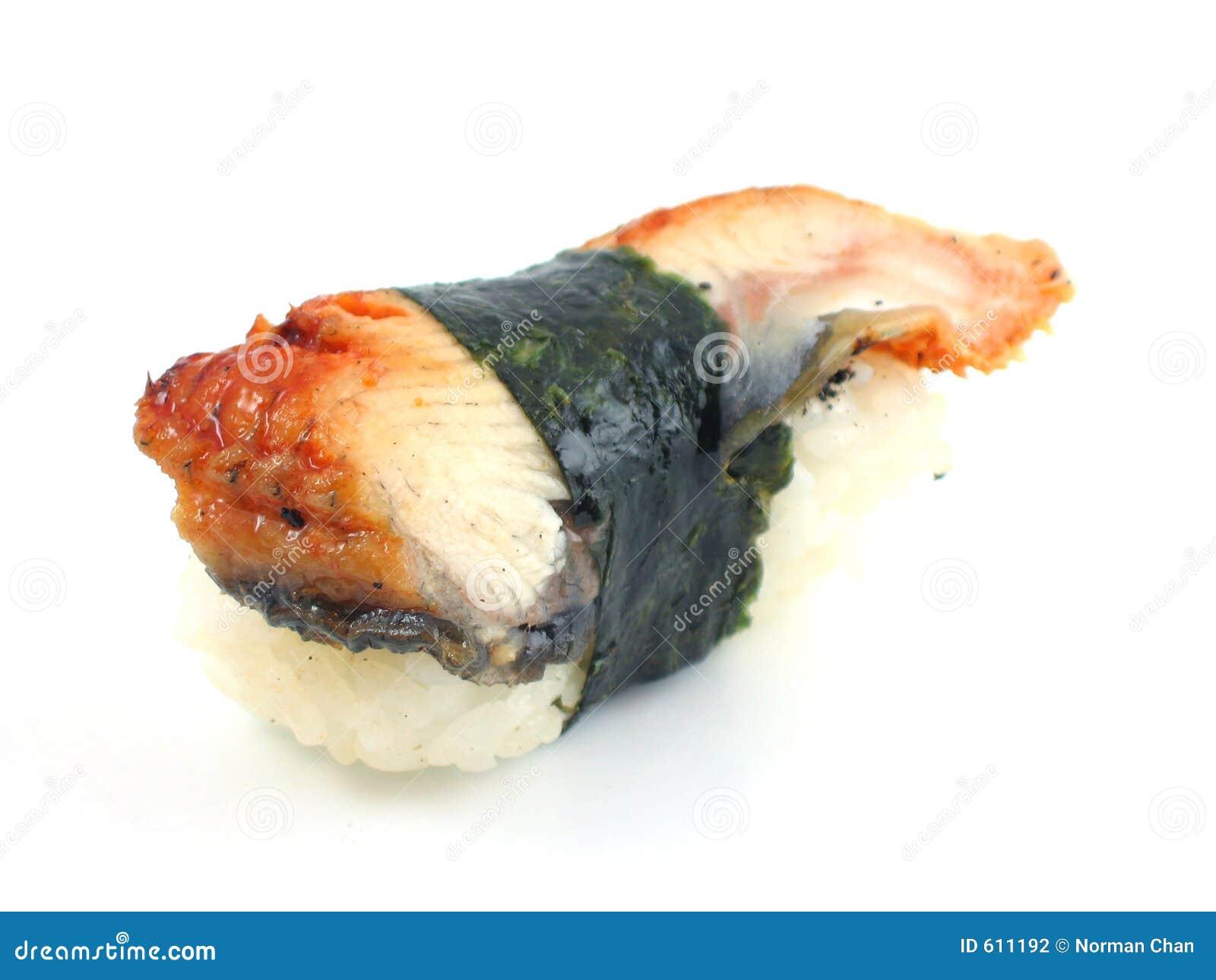 De sushi van de paling