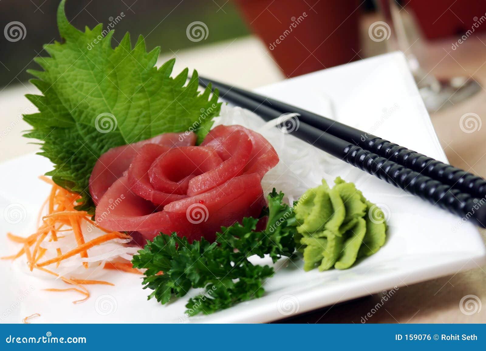 De Sushi van de tonijn