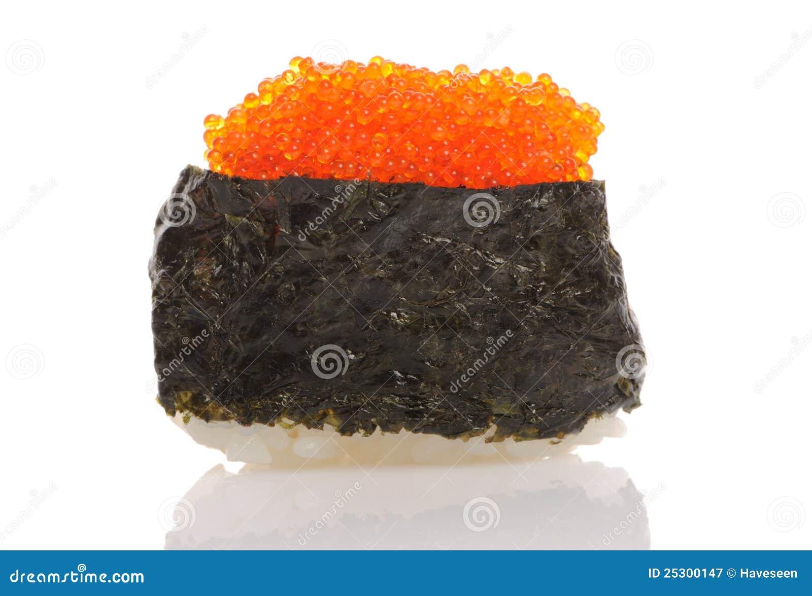 De sushi van Tobiko