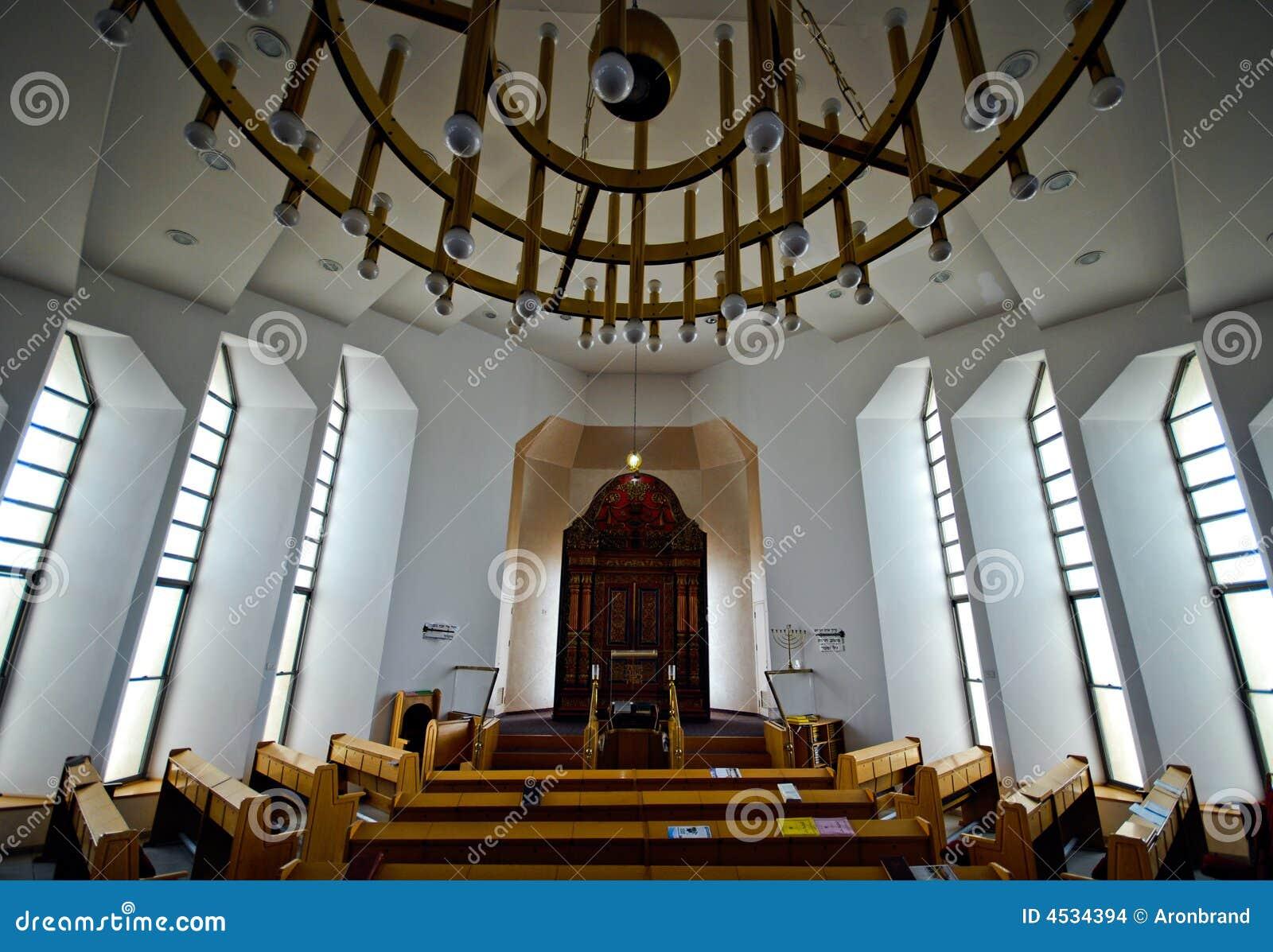 De synagoge van Nechalim in Israël