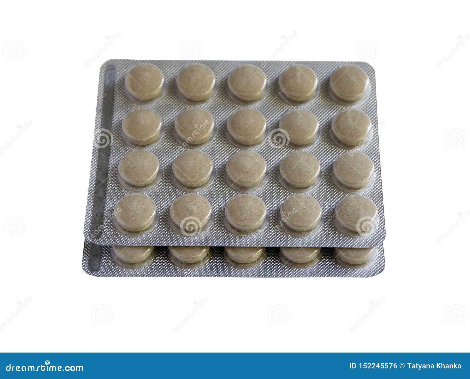 De tabletten in pakken zijn op de lijst Antibiotica van het virus Behandeling van de ziekte