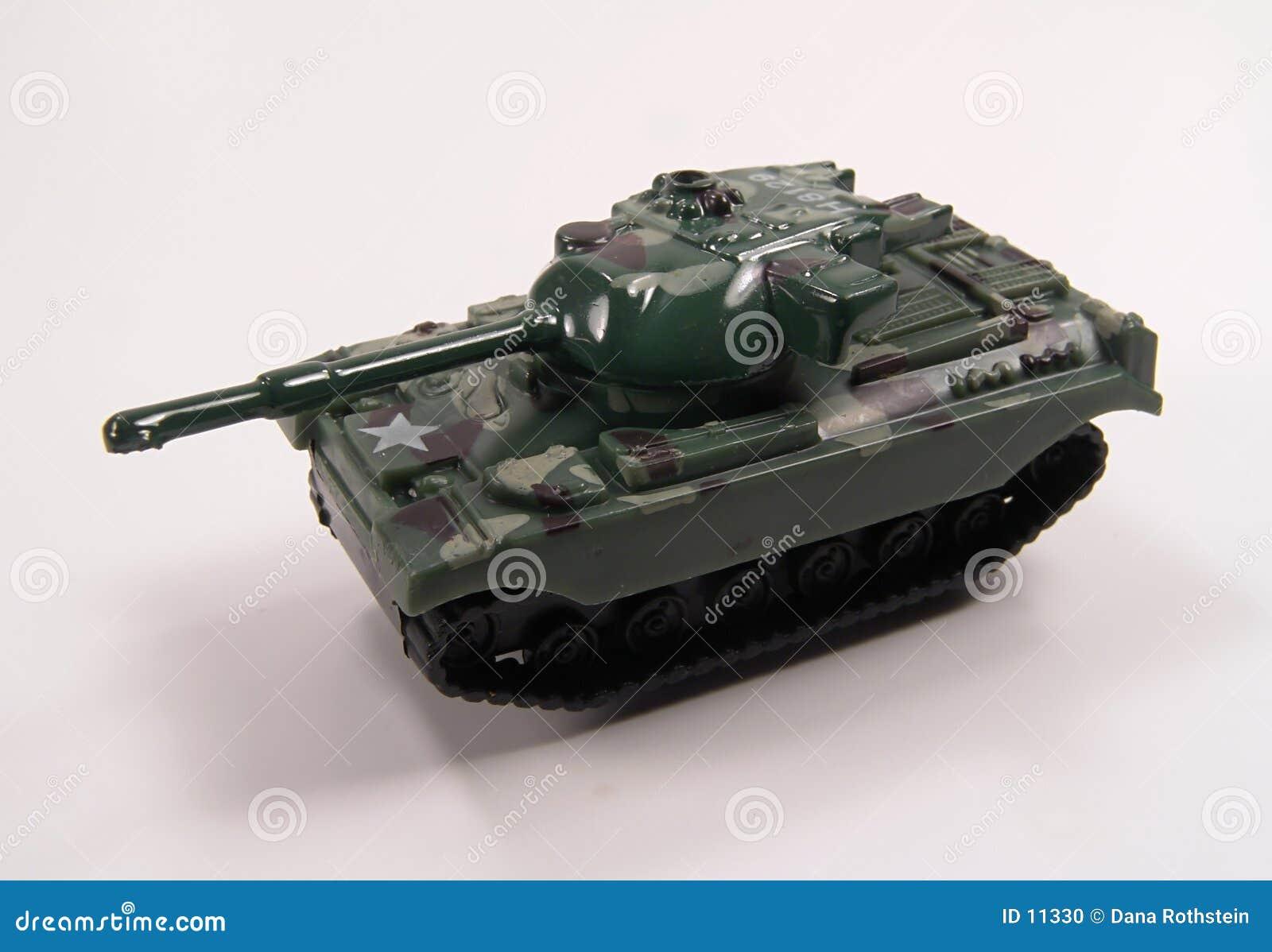 De Tank van het stuk speelgoed