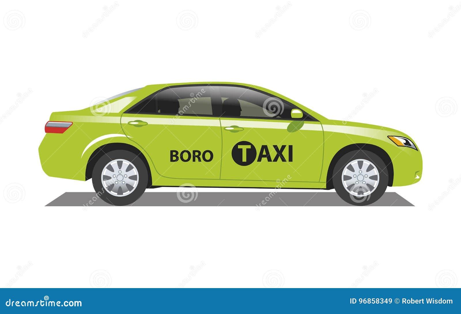 De Taxi Boro van New York