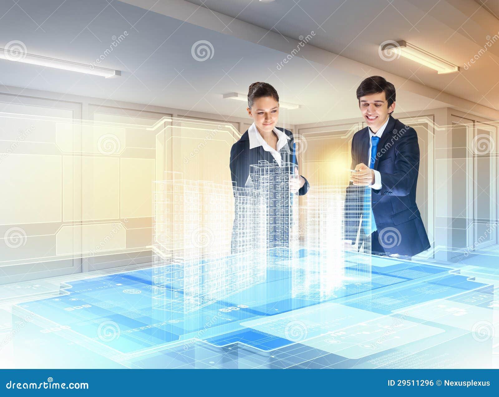 De technologieën van de bouw en van de innovatie