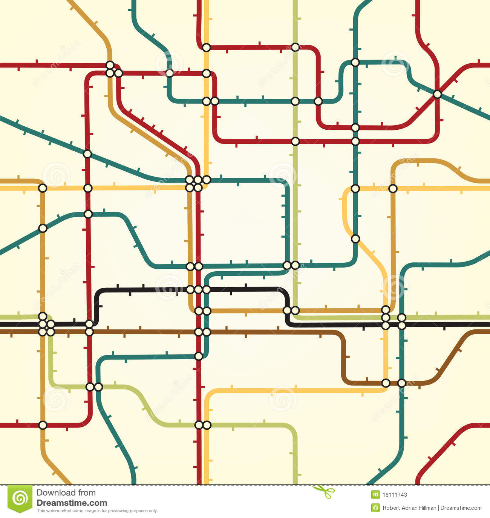 De tegel van de metro