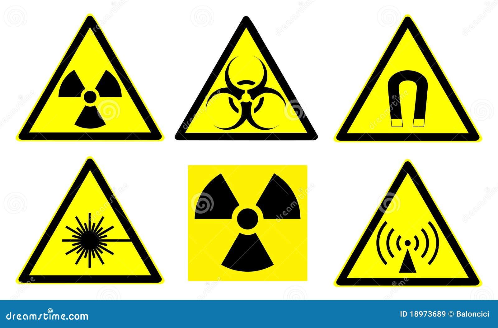 De tekens van het gevaar plaatsen 1