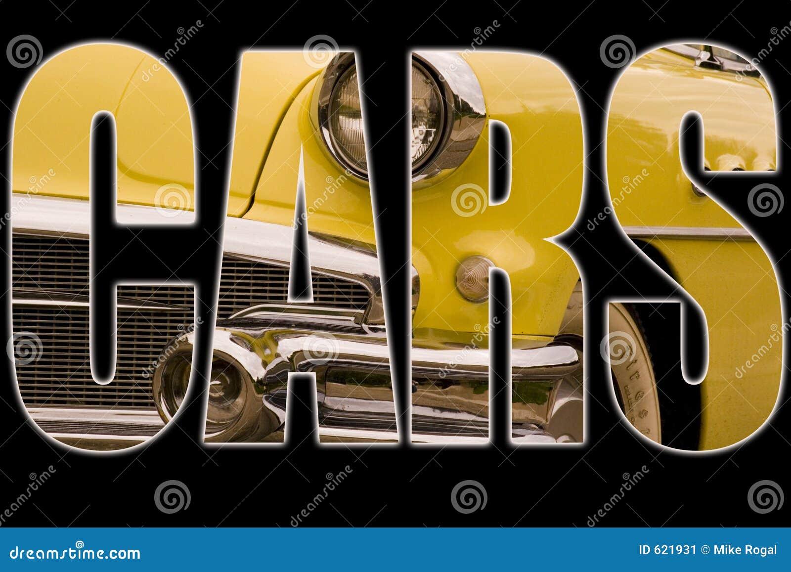 De Tekst van auto s