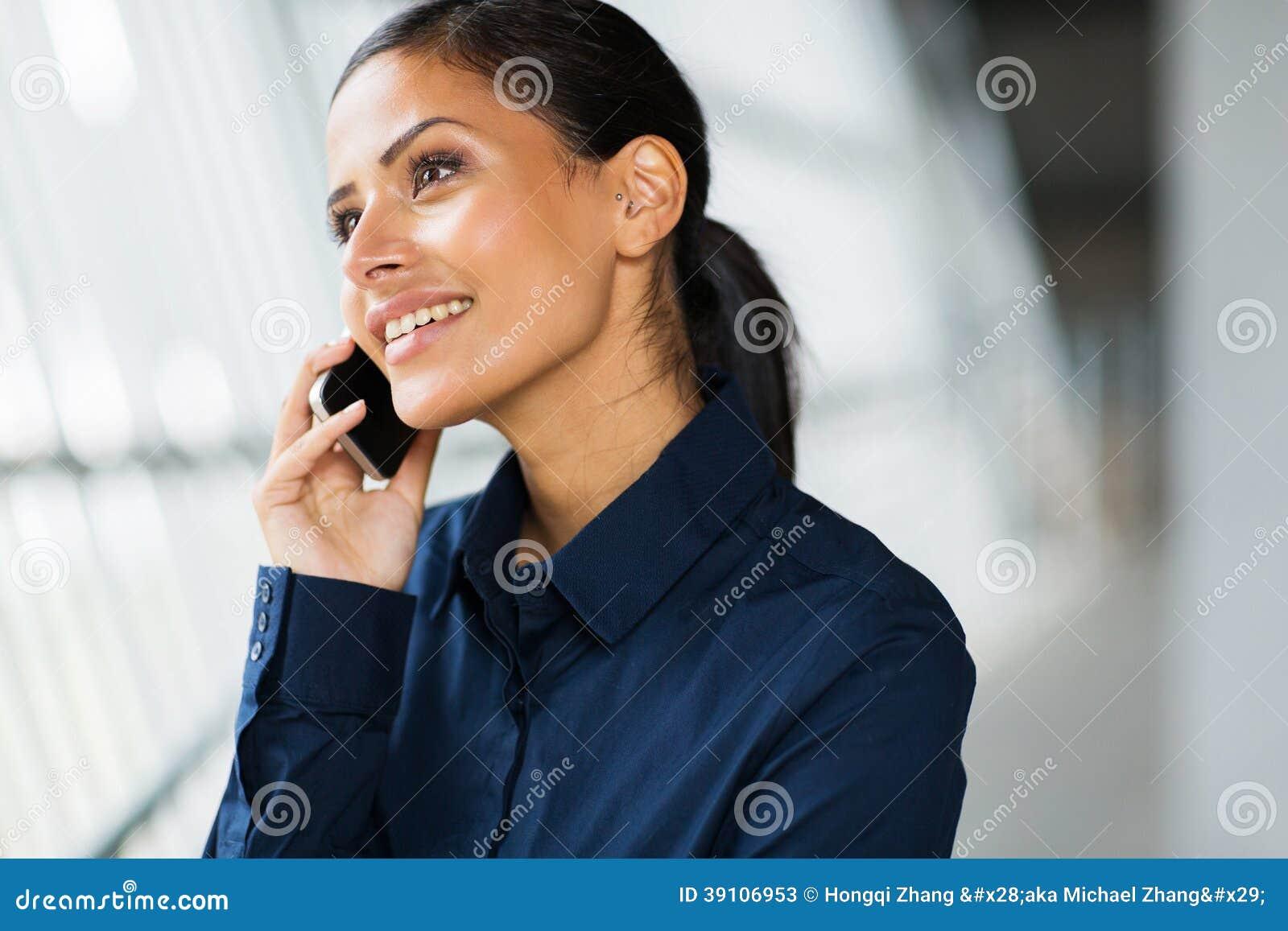 De telefoon van de beambtecel