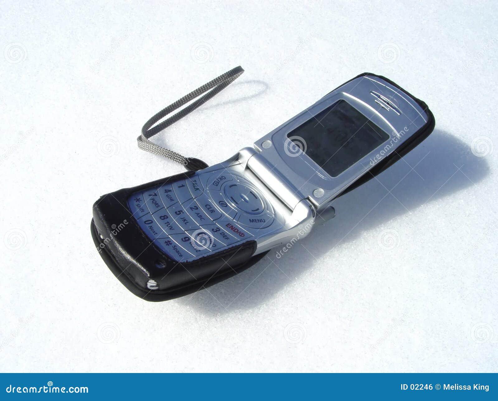 De telefoon van de cel